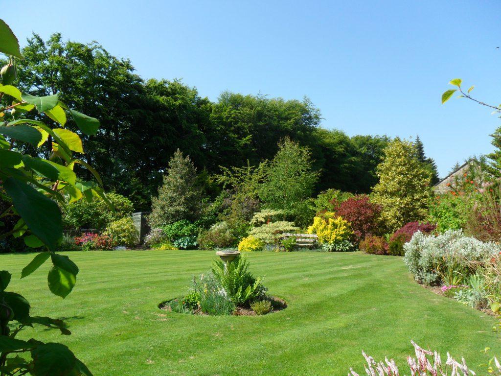 Jeanette Kinloch's garden in Perth.