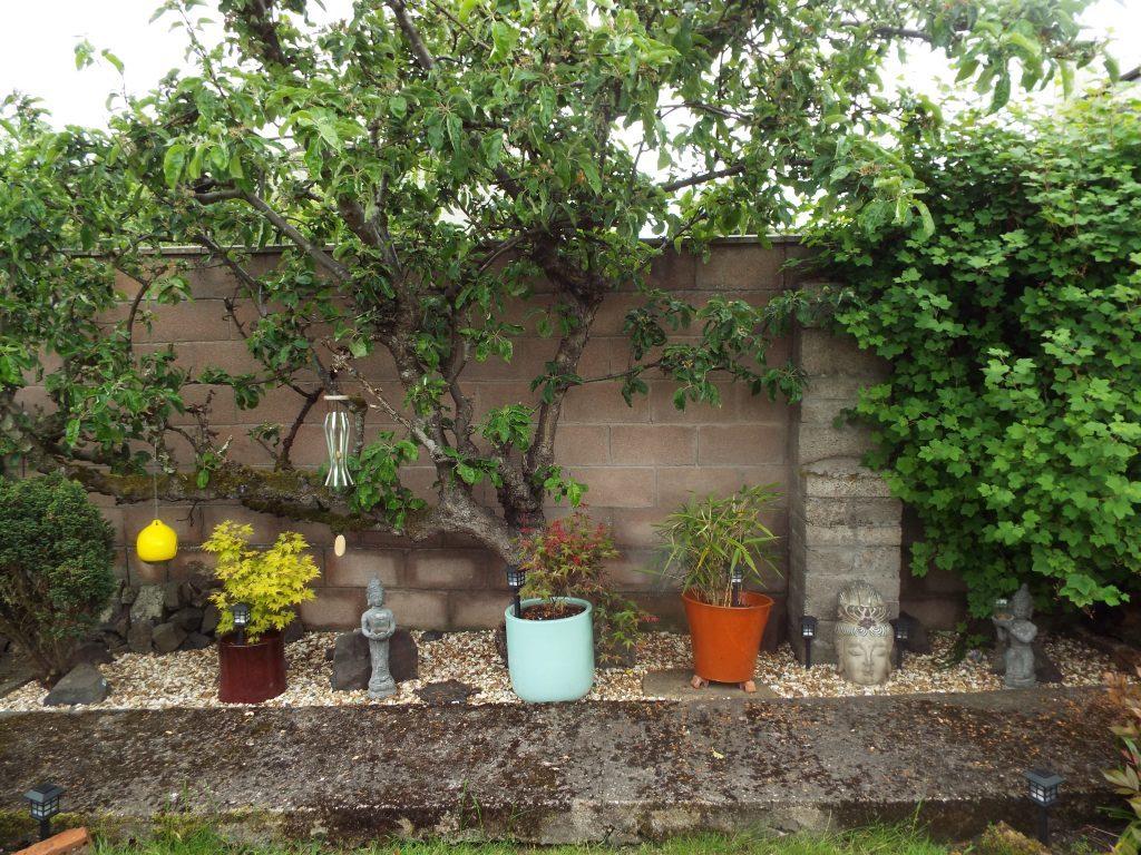 Leslie Donaldson's oriental garden.