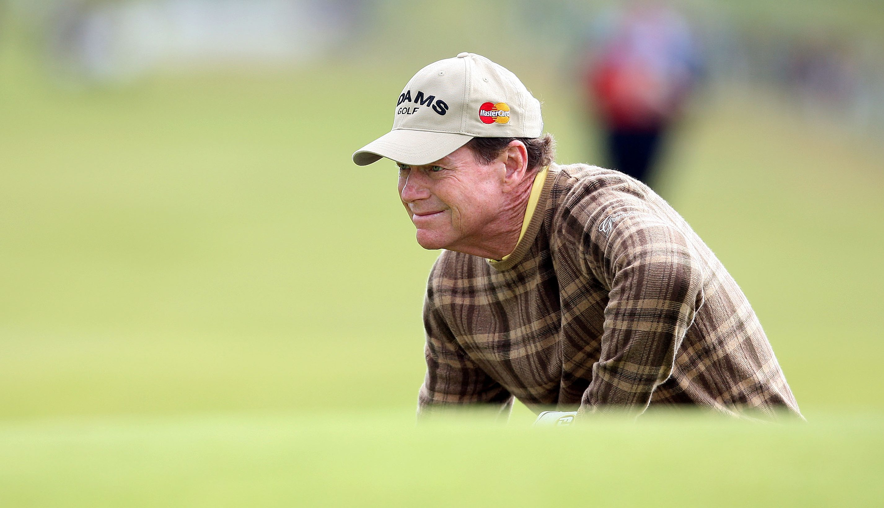 Tom Watson at a previous visit to Carnoustie.