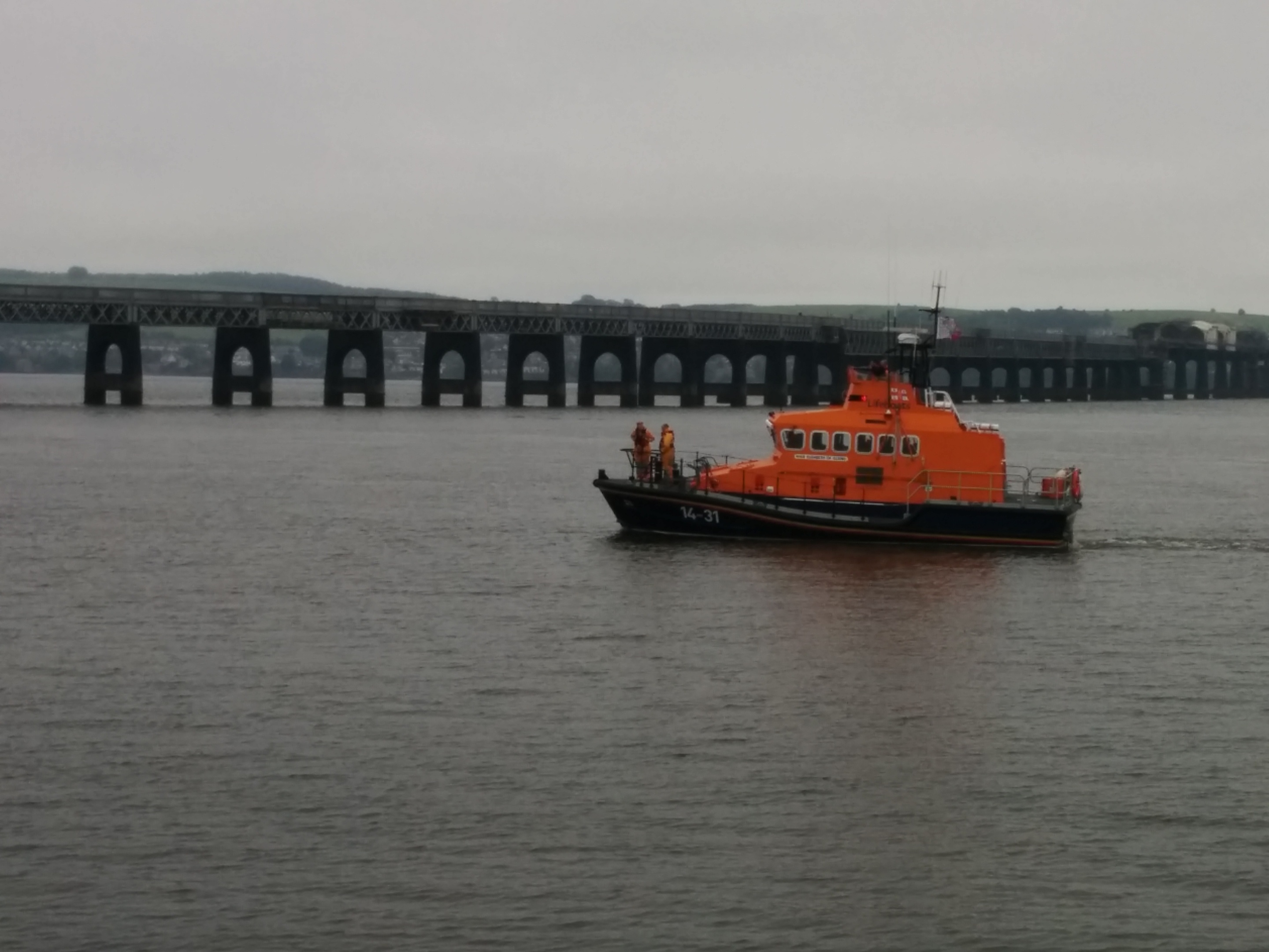 Mr Schiavetta believes a fitting memorial could be placed at the Broughty Ferry lifeboat shed.