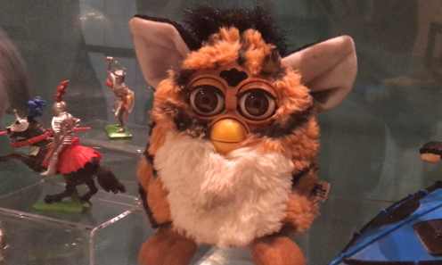 Furby on display at Perth Museum and Art Gallery.