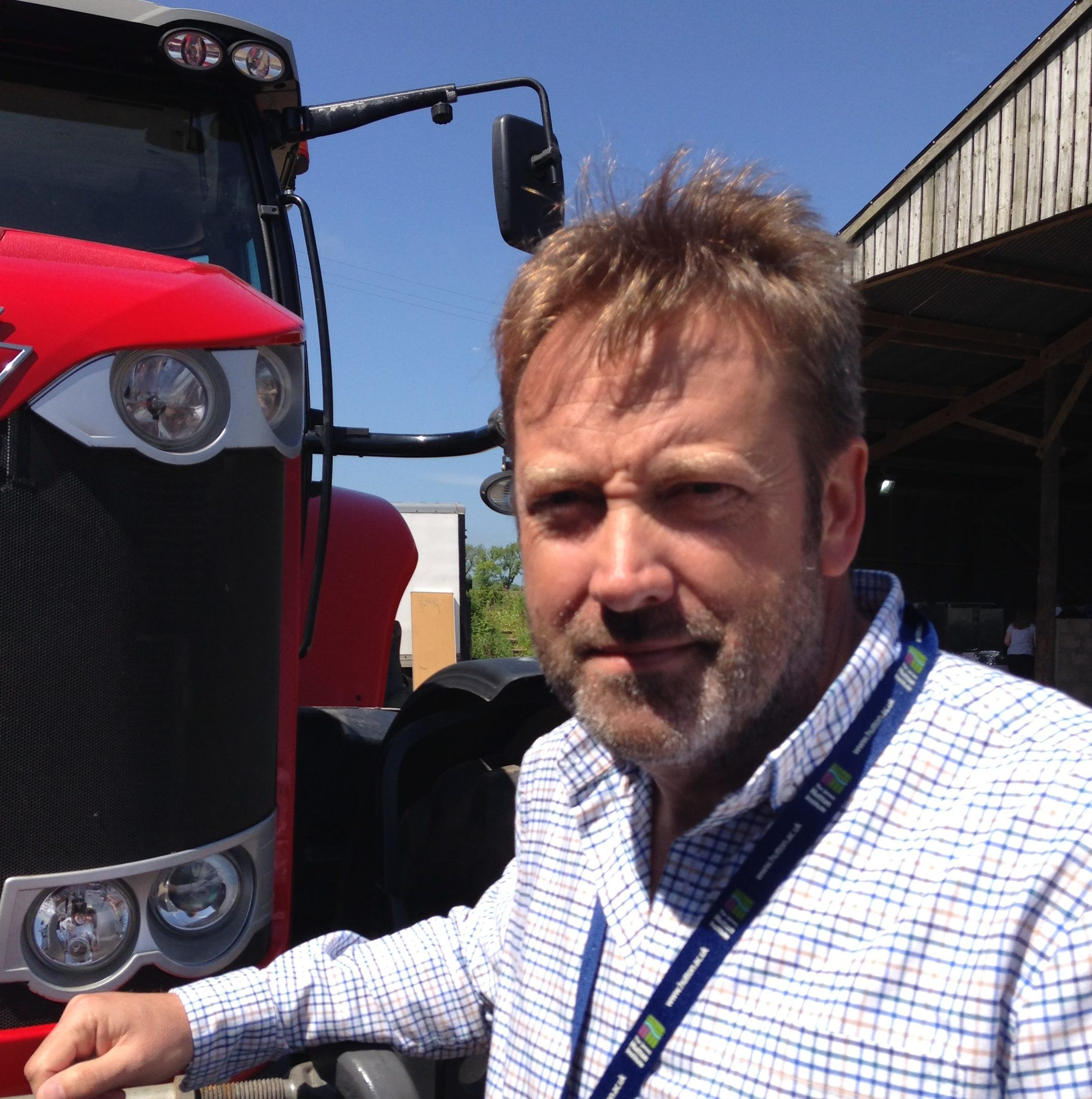 JHI chief executive Colin Campbell said new technology was helping farming face challenges