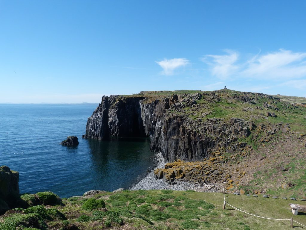 Stunning views on the Isle of May