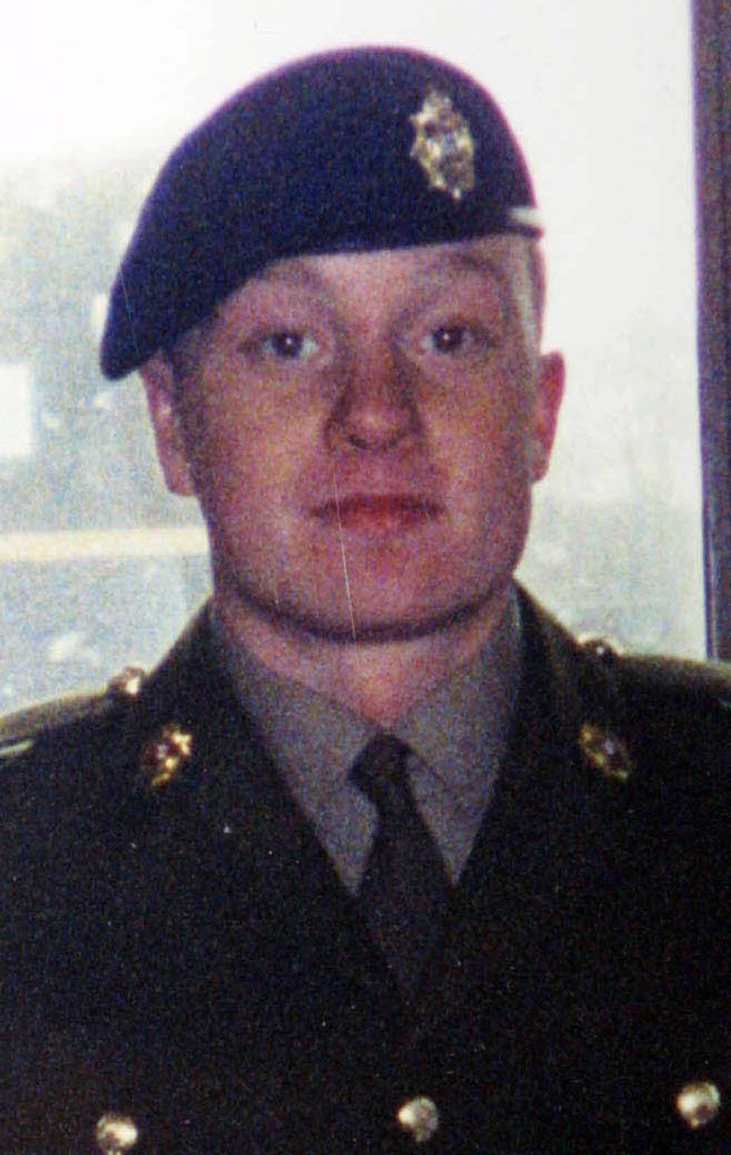 Private James Collinson.