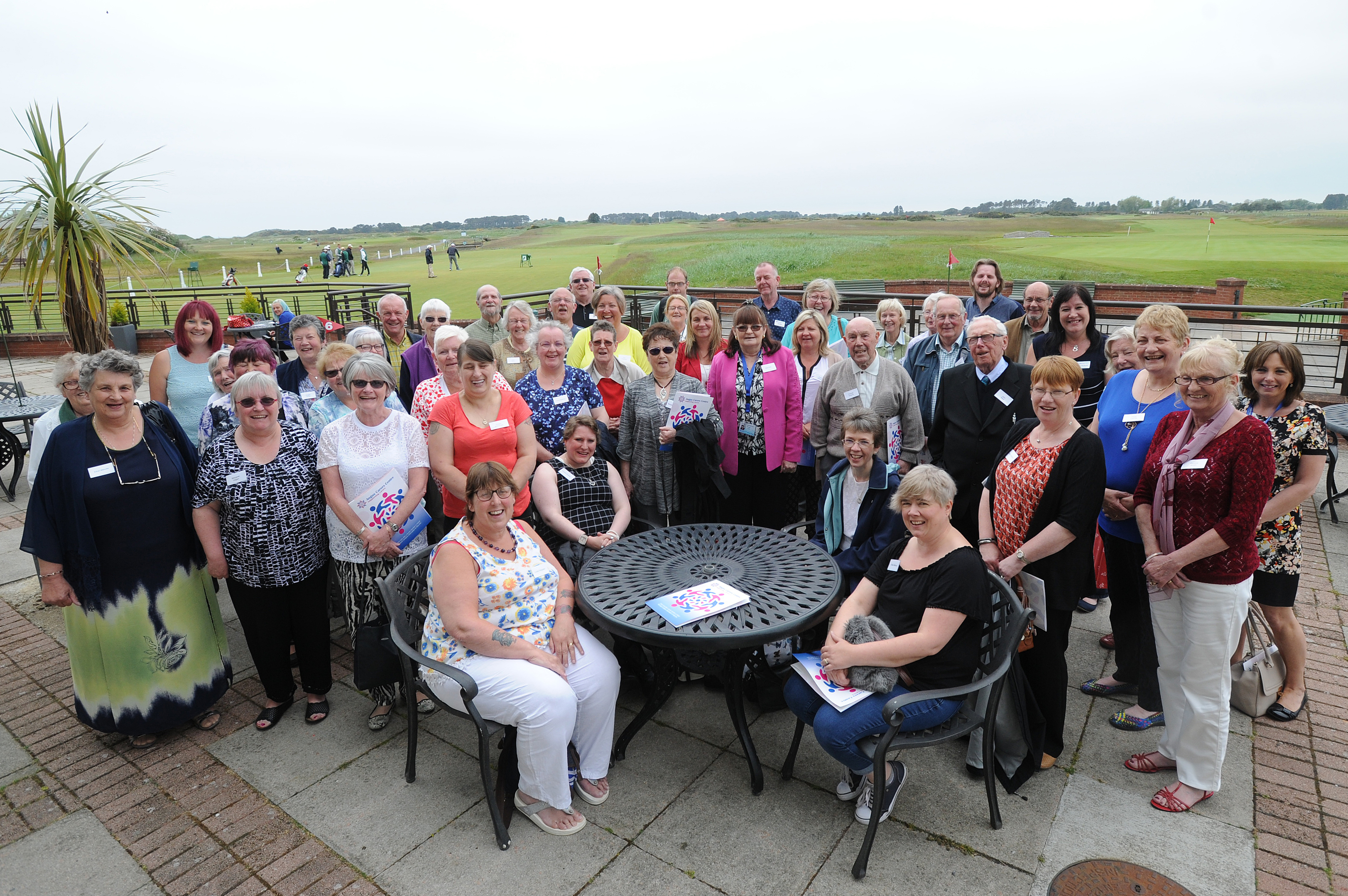 Around 100 unpaid carers took part in a  day organised by the Angus Carers Centre.
