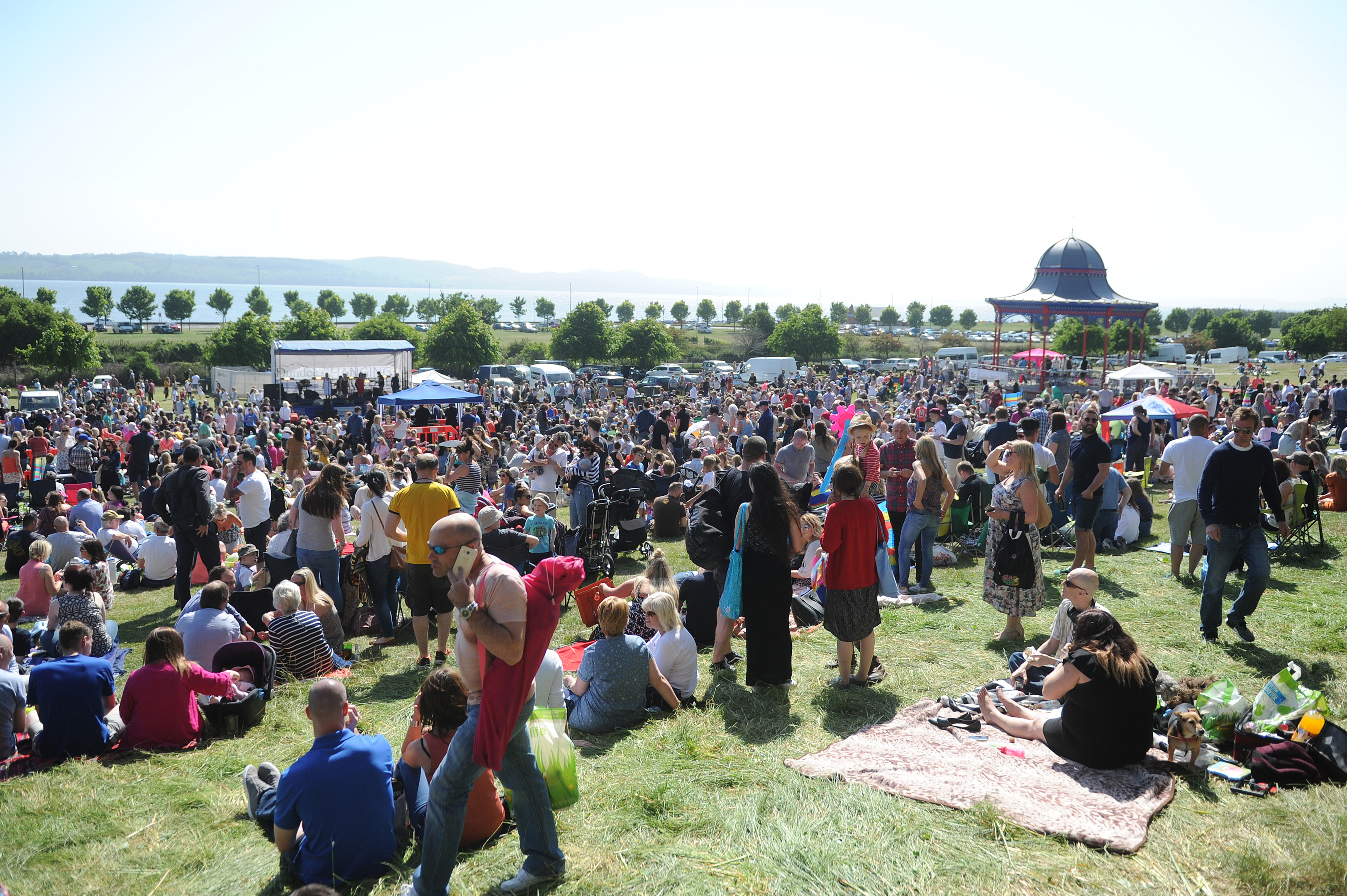 A huge crowd gathered on WestFest's big Sunday in June.