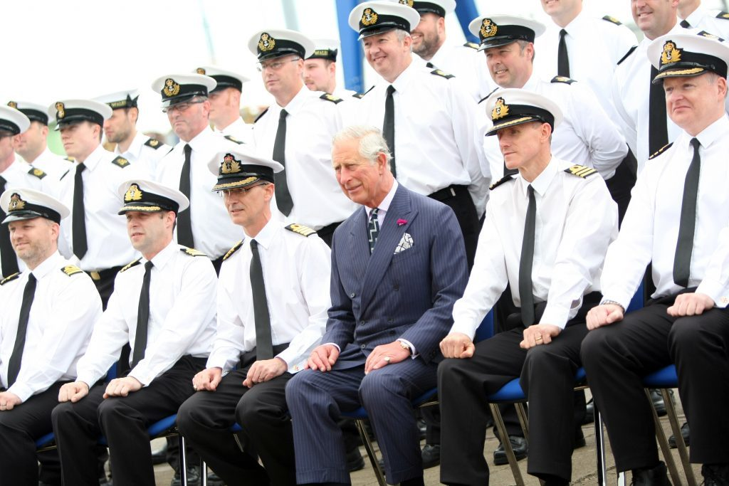 Courier News - PrinceCharles - Aircraft Carrier - Babcock - Rosyth. Prince Charles visiting aircraft carrier named after himself. Which will be nice. He'll be touring the ship, meeting dockyard workers before striking a gavel that places the final piece in to the flight deck. Picture shows; HRH Prince Charles, Duke of Rothesay visiting Rosyth Dockyard, Monday 20 June 2016.