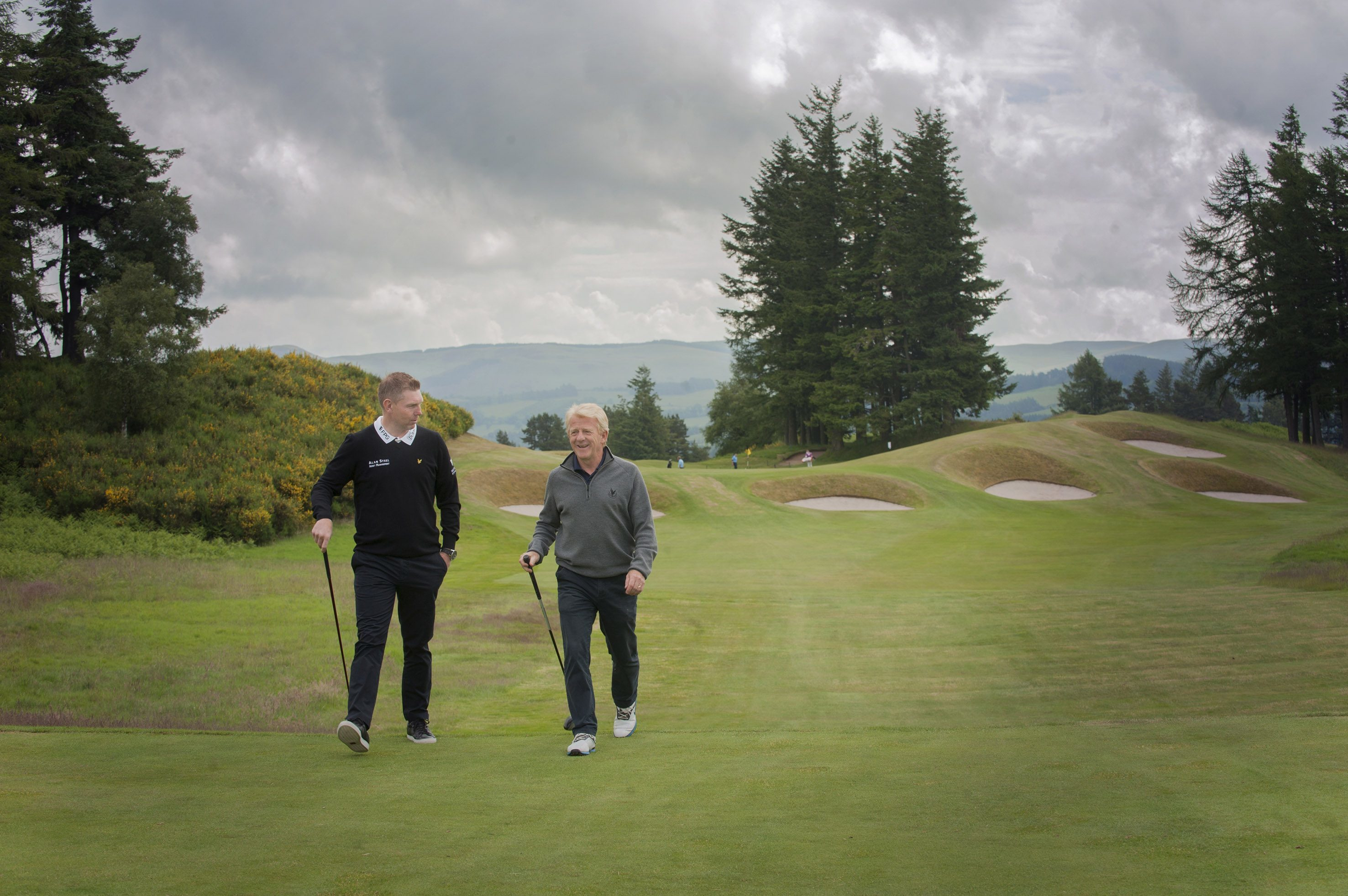 Gleneagles golf course will hold next years Solheim Cup