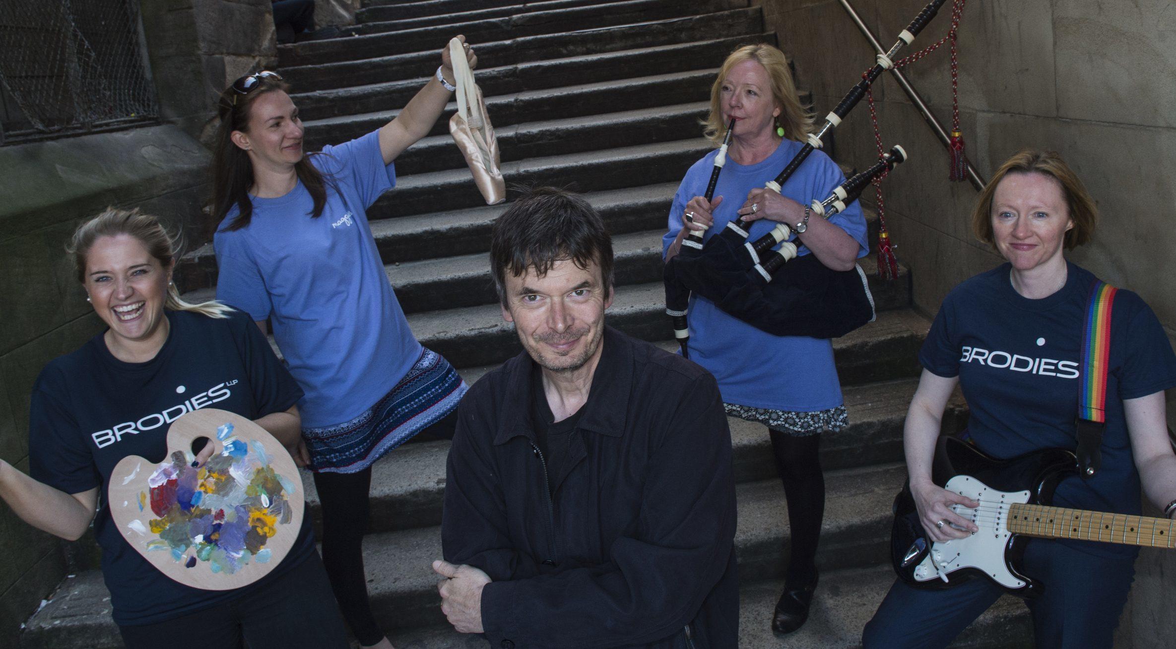 Ian Rankin is launching Maggies Culture Crawl events