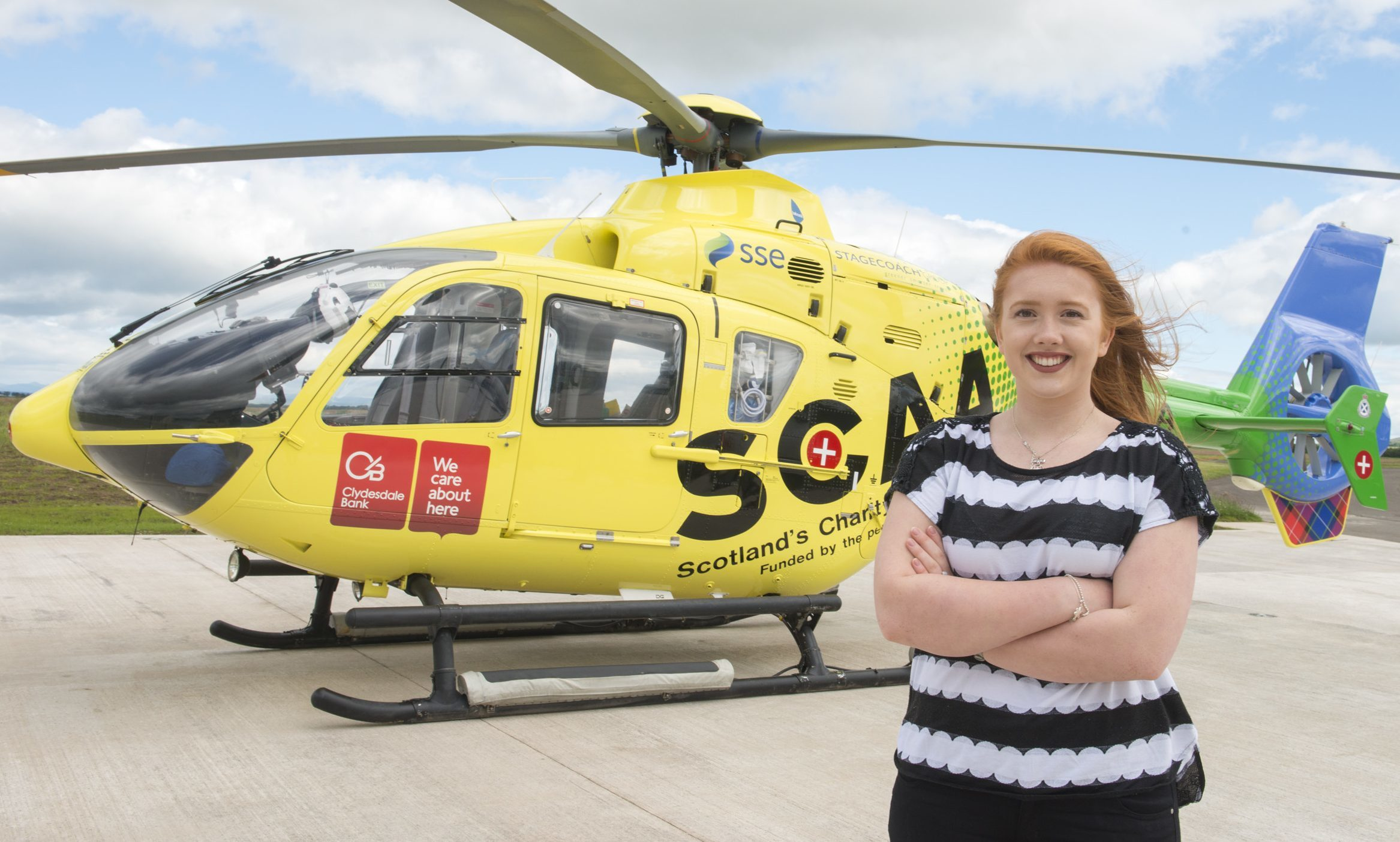 Teenager Lucy Smith thanks the SCAA team who came to her rescue after 2015 accident.
