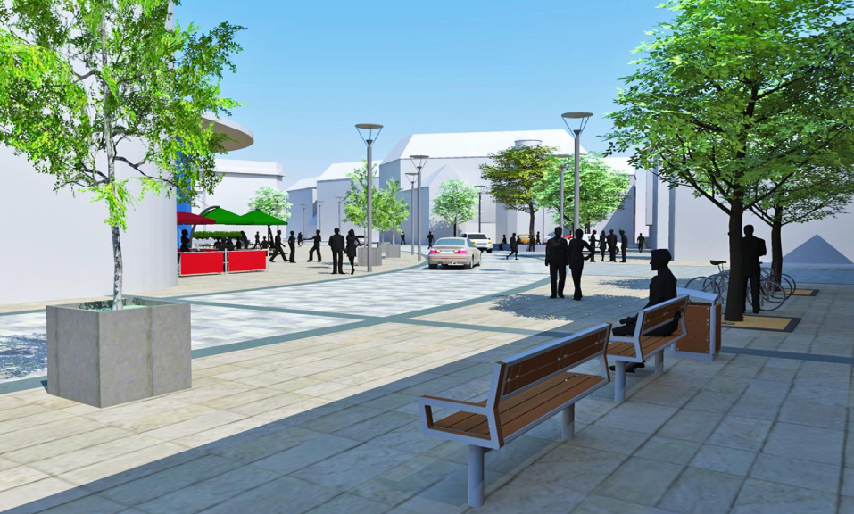 How the revamped Mill Street could look.