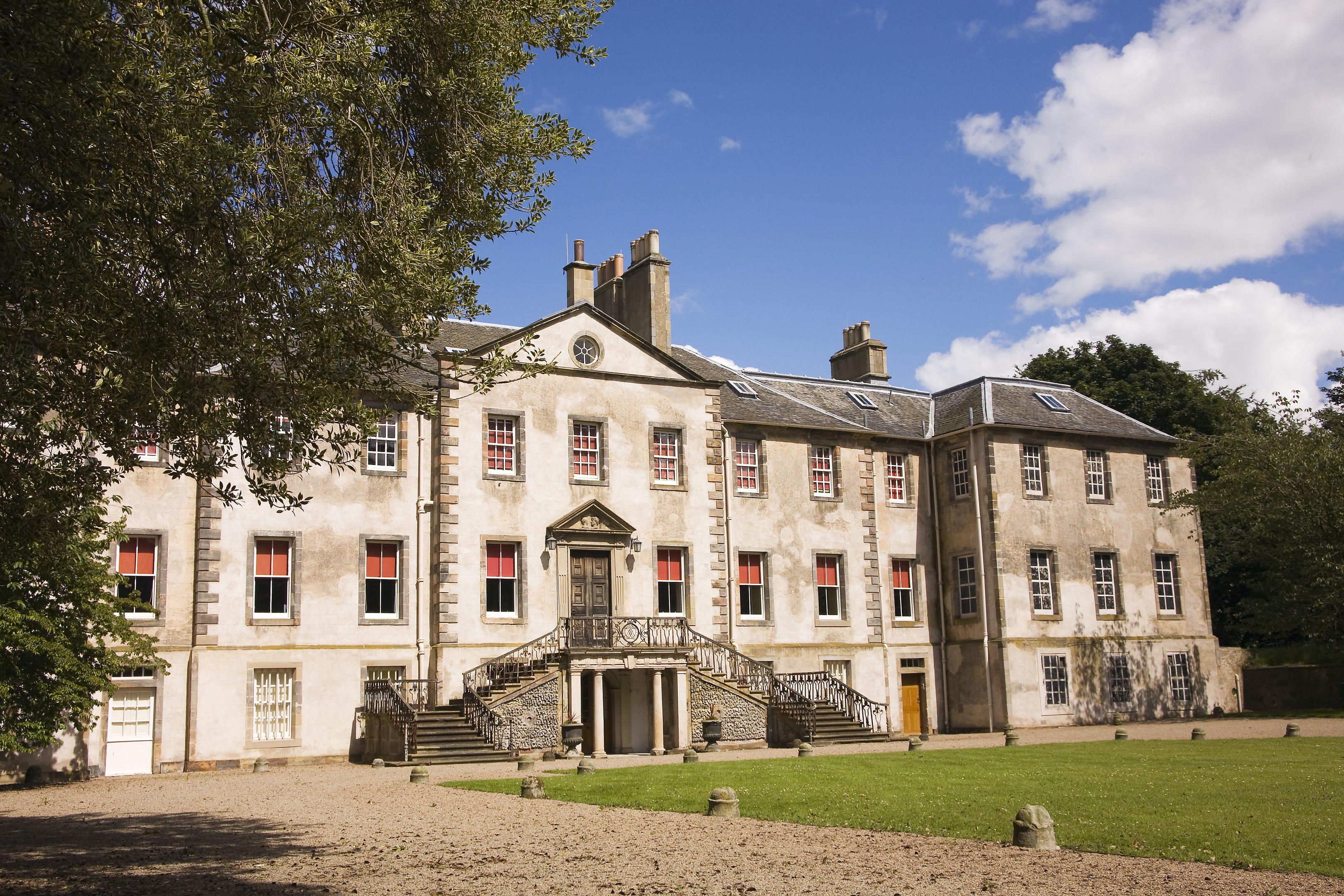 The National Trust for Scotland is investing in its properties, such as Newhailes House in Musselburgh.