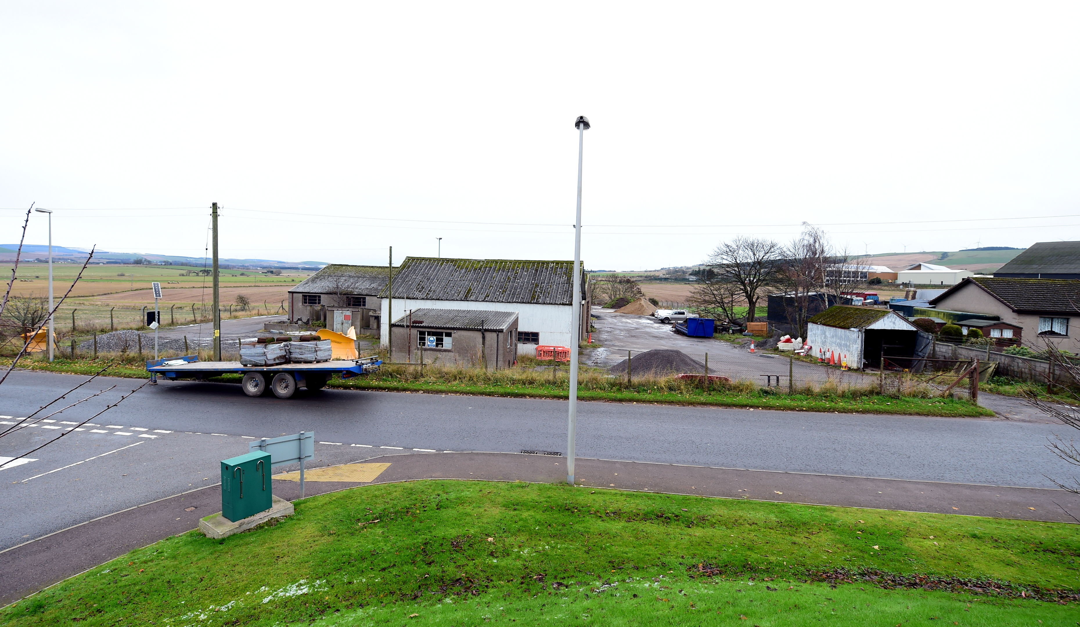 The Aberdeenshire Council depot in Laurencekirk was one of the options for a Travellers site.