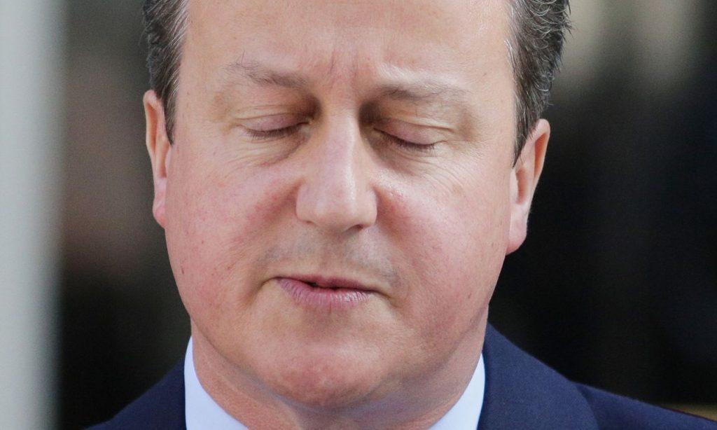 David Cameron: 'Looking at his options'