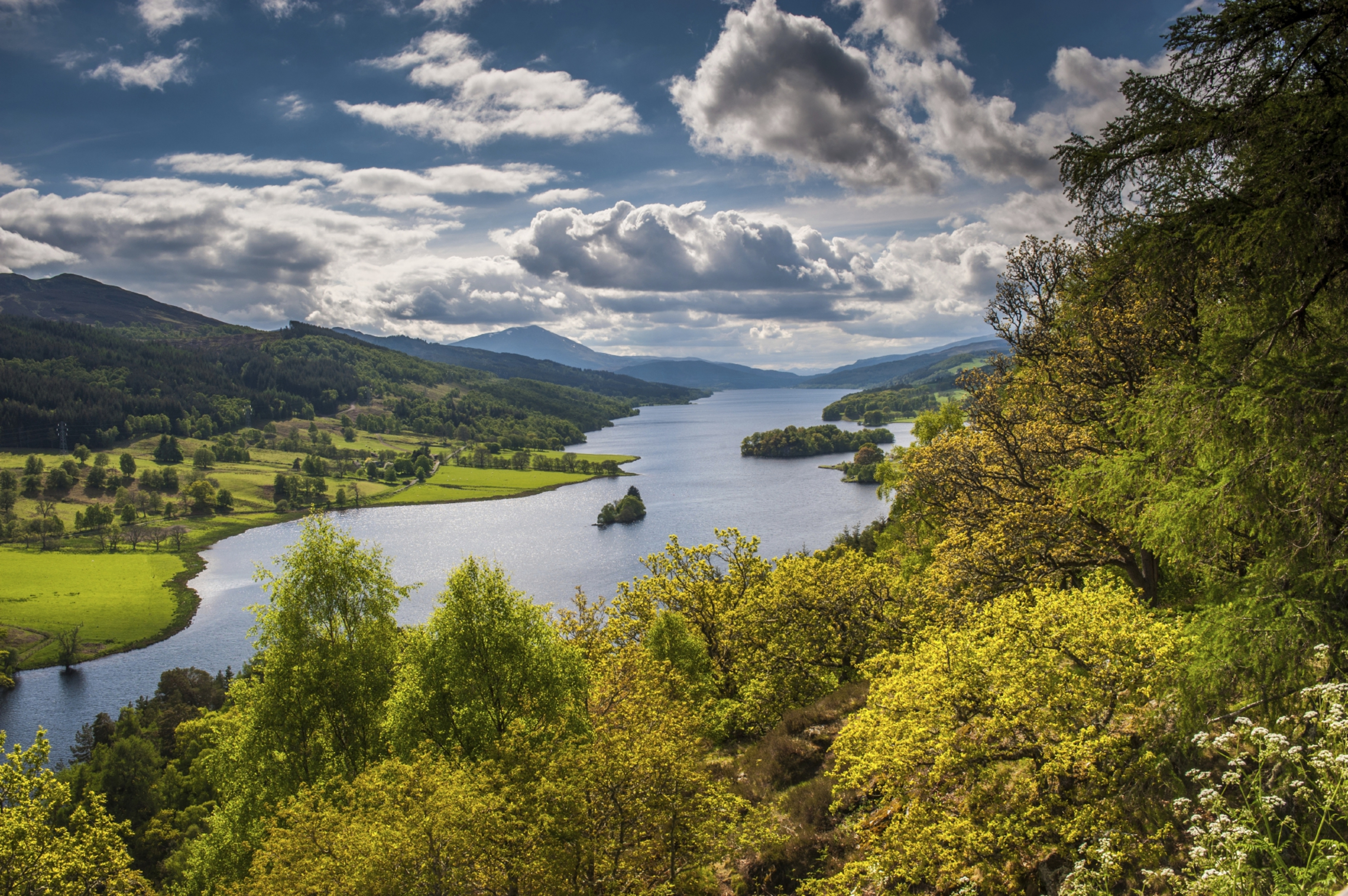 Queens View — is this the kind of attraction that makes Perthshire residents enjoy a superior quality of life.