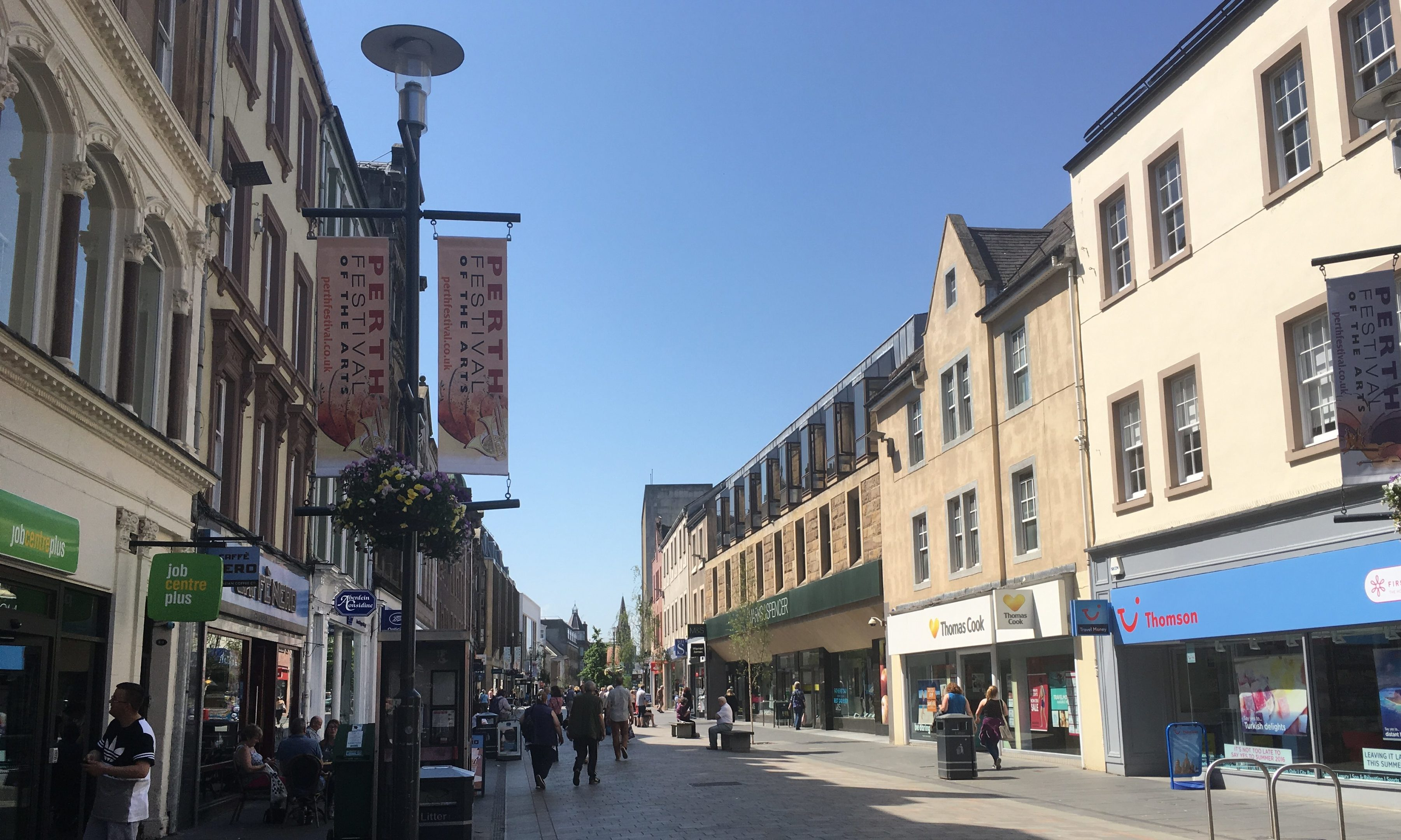 Perth High Street has seen numerous closures but also numerous new openings over the past year.