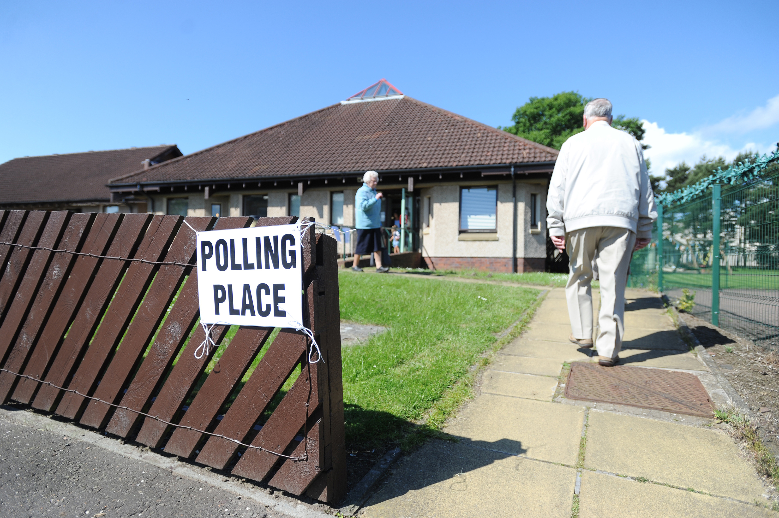 Lawton Road Sheltered Housing Complex, which was one of the polling places in Dundee.