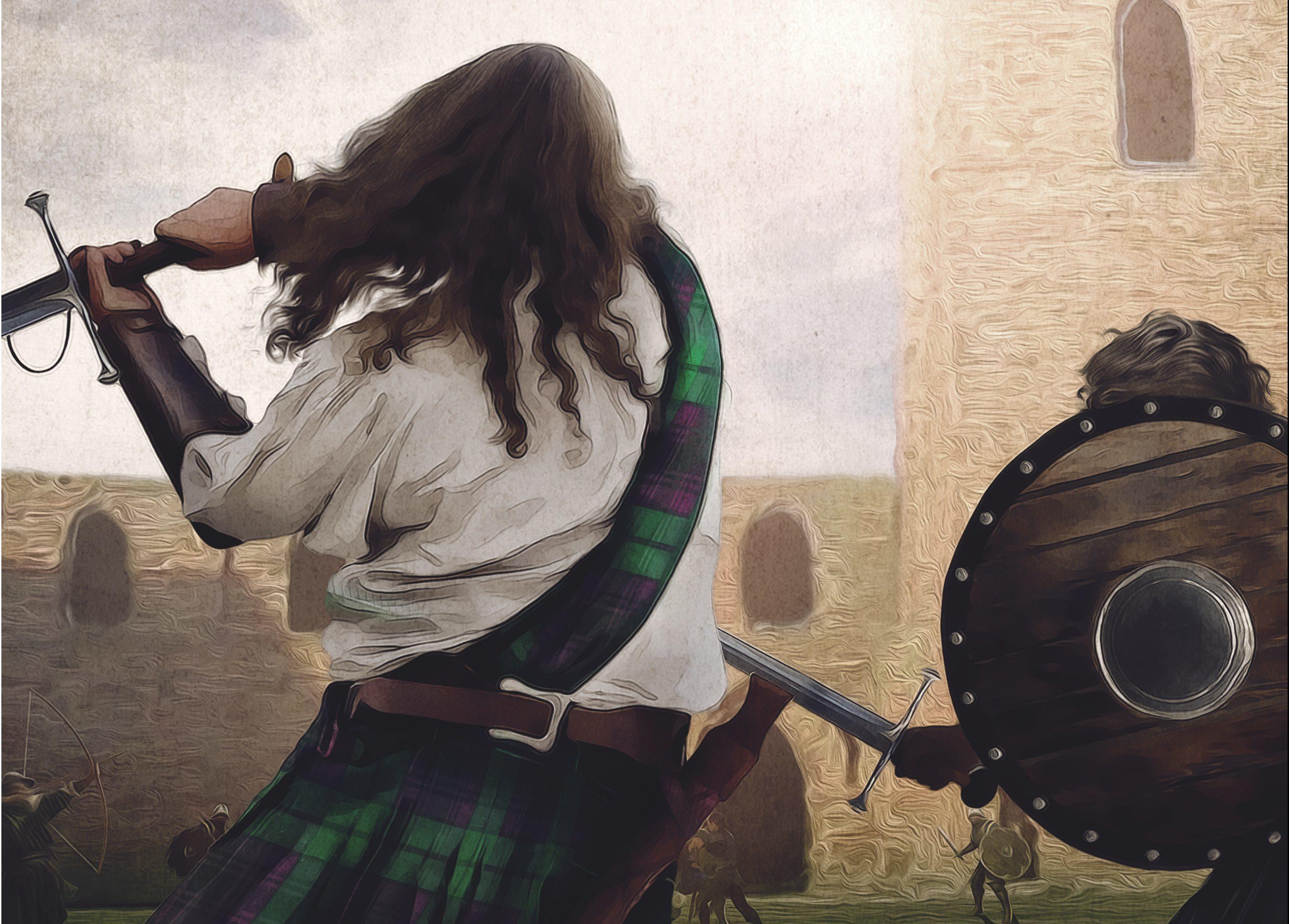 The Battle of Arbroath