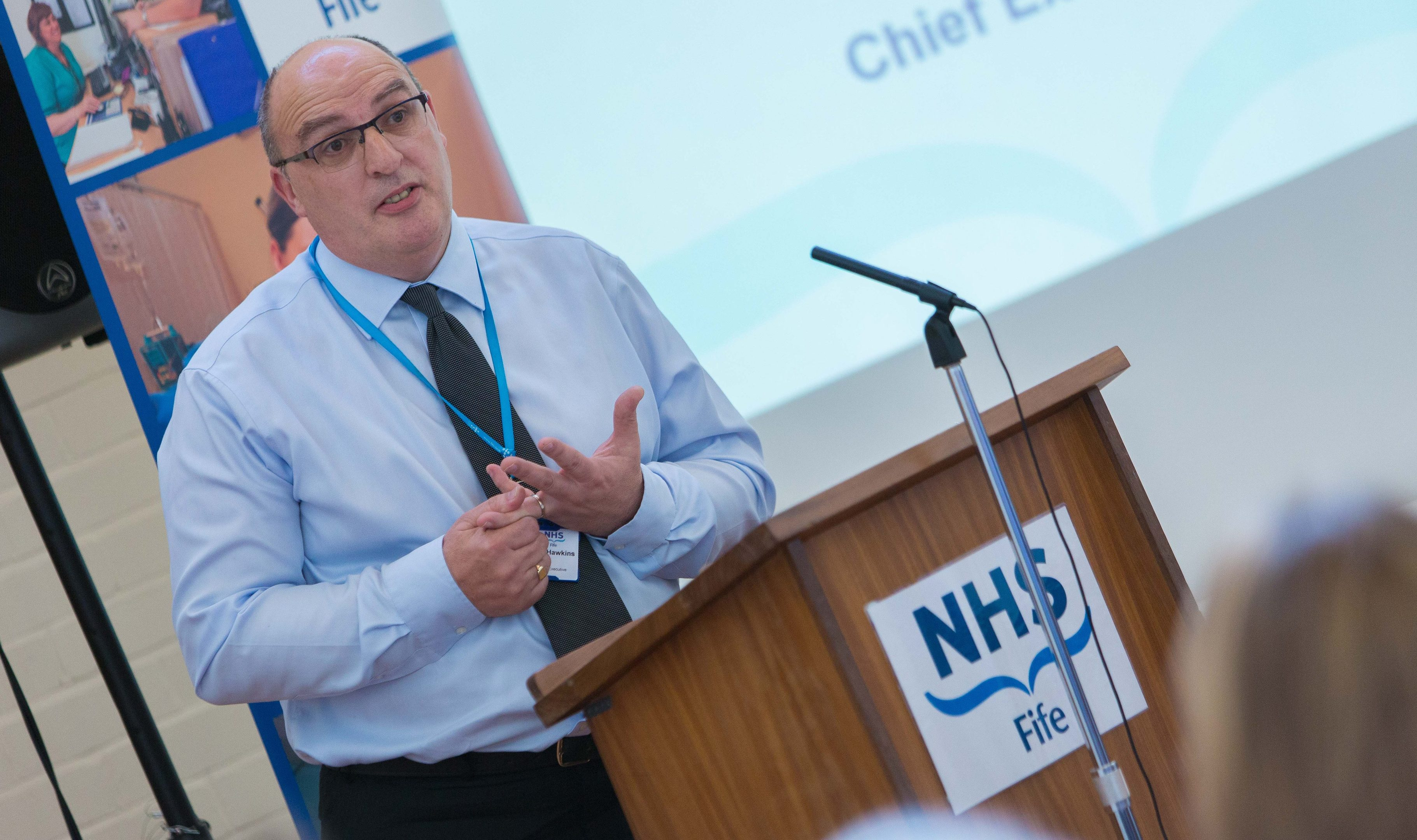 NHS Fife chief executive Paul Hawkins will lead NHS Highland