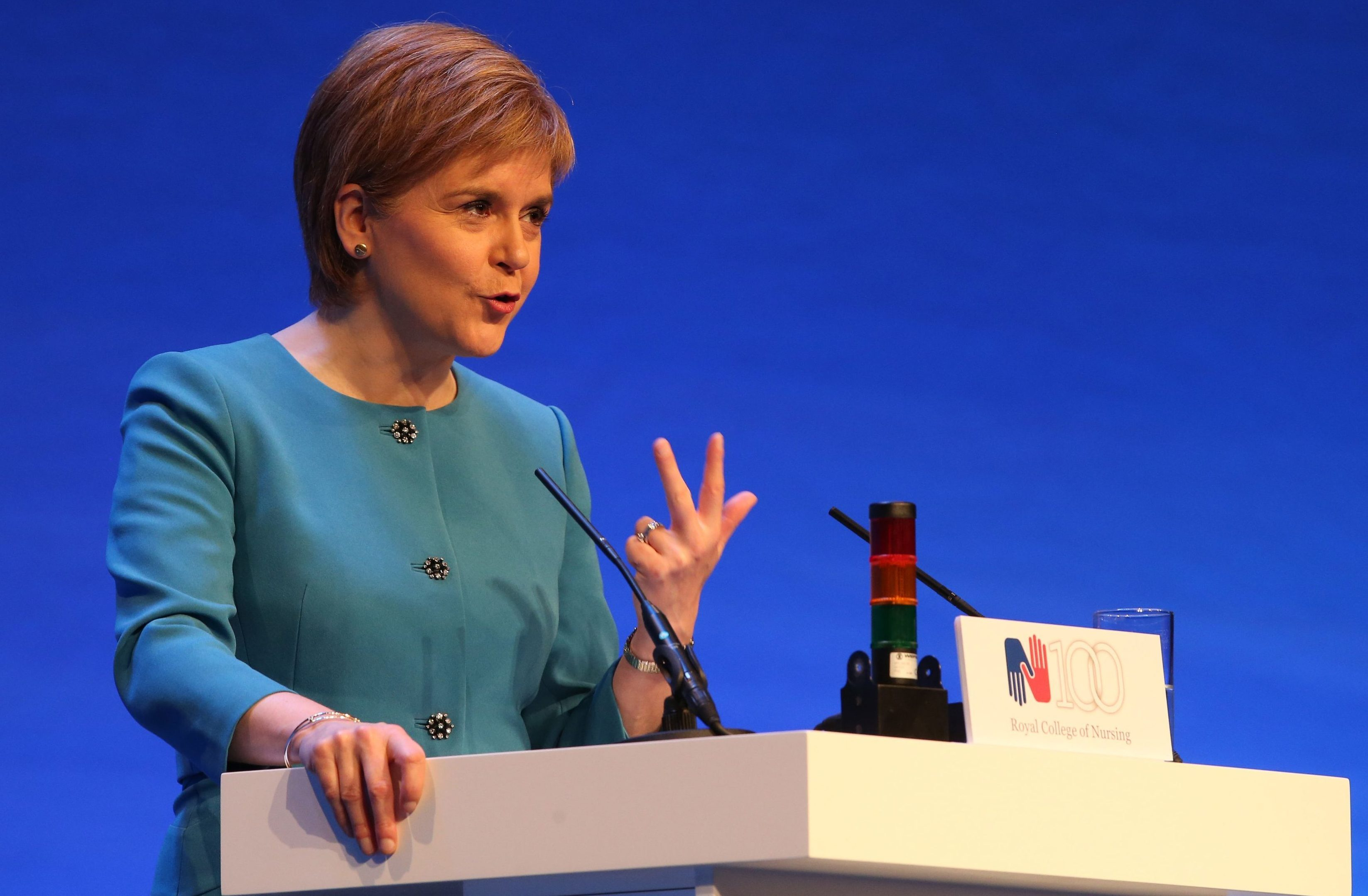 First Minister Nicola Sturgeon guaranteed to retain free tuition and bursaries for nursing and midwifery students in Scotland.