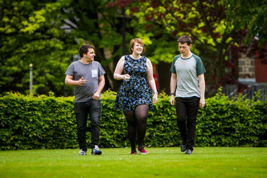 Picture shows (left to right) James McDonagh, Gemma McIntosh and Charlie Kleboe-Rogers. University of Dundee