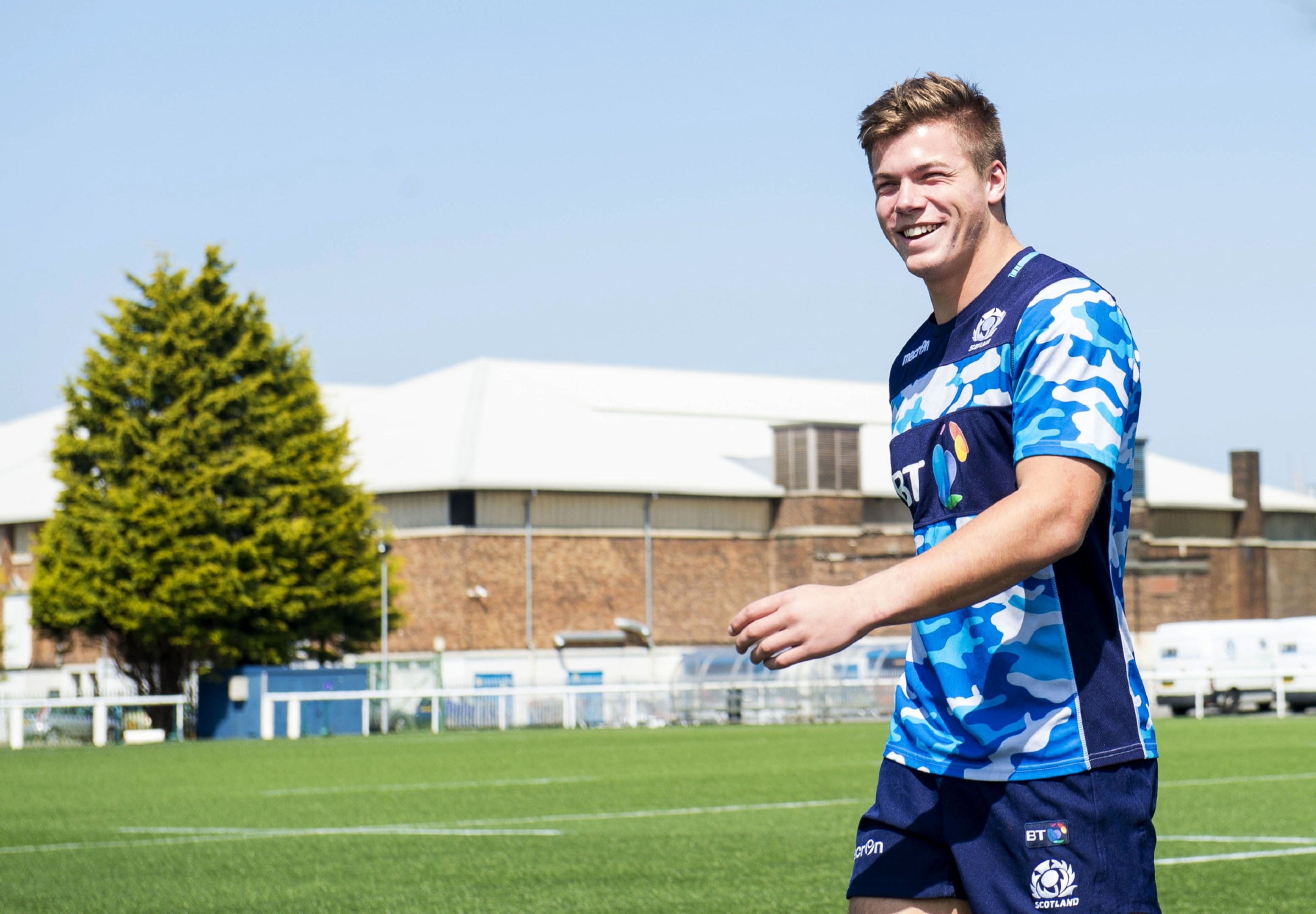 Huw Jones took no time to consider whether to join up with Scotland.