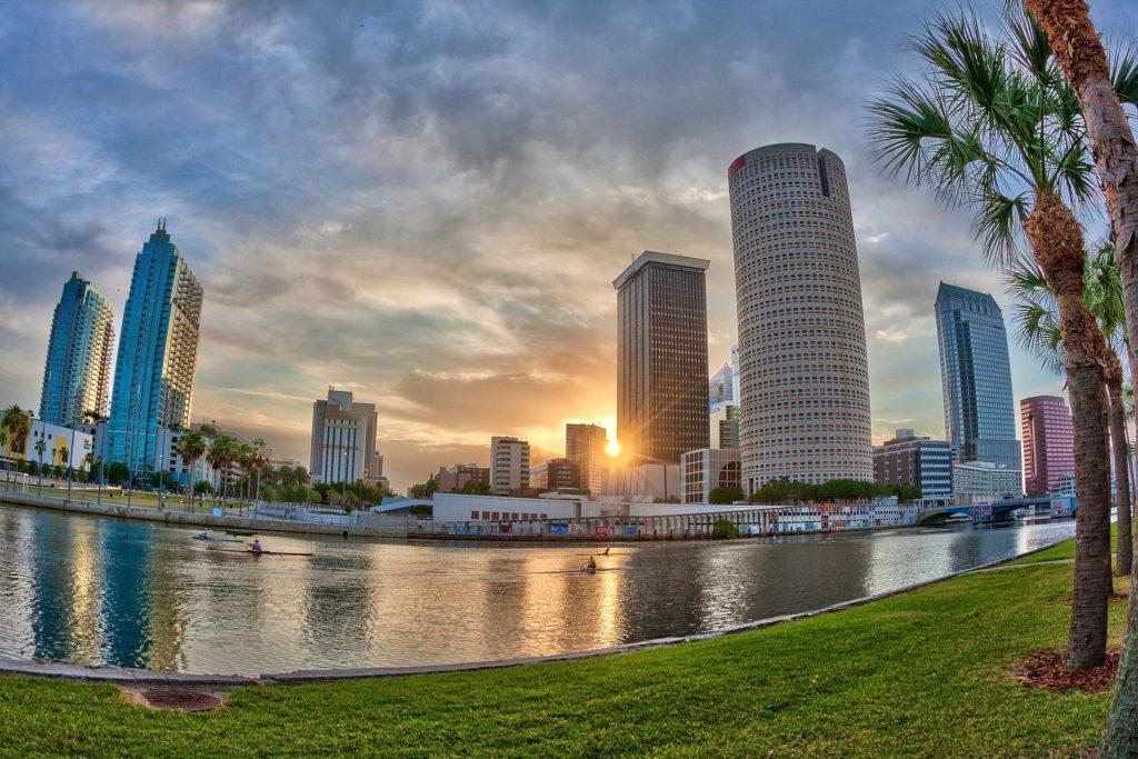 Hillsborough River at Sunrise, Tampa.