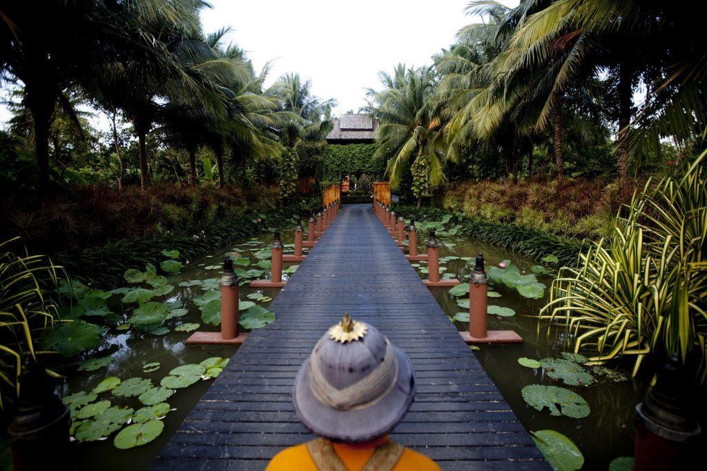 Anantara grounds.