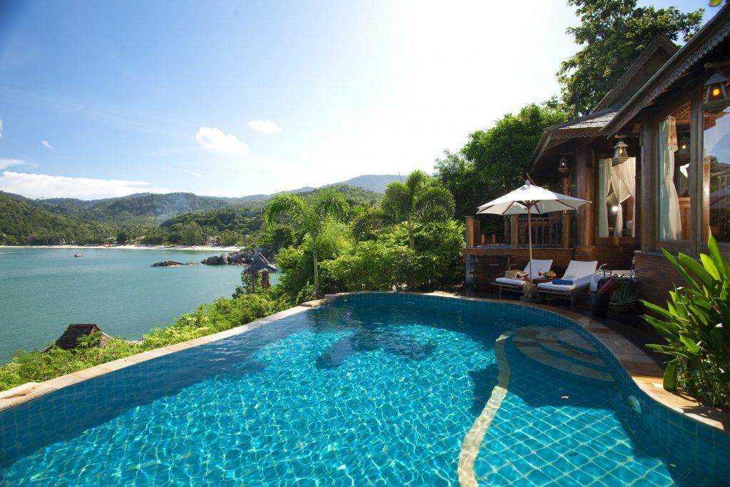 Santhiya pool villa.
