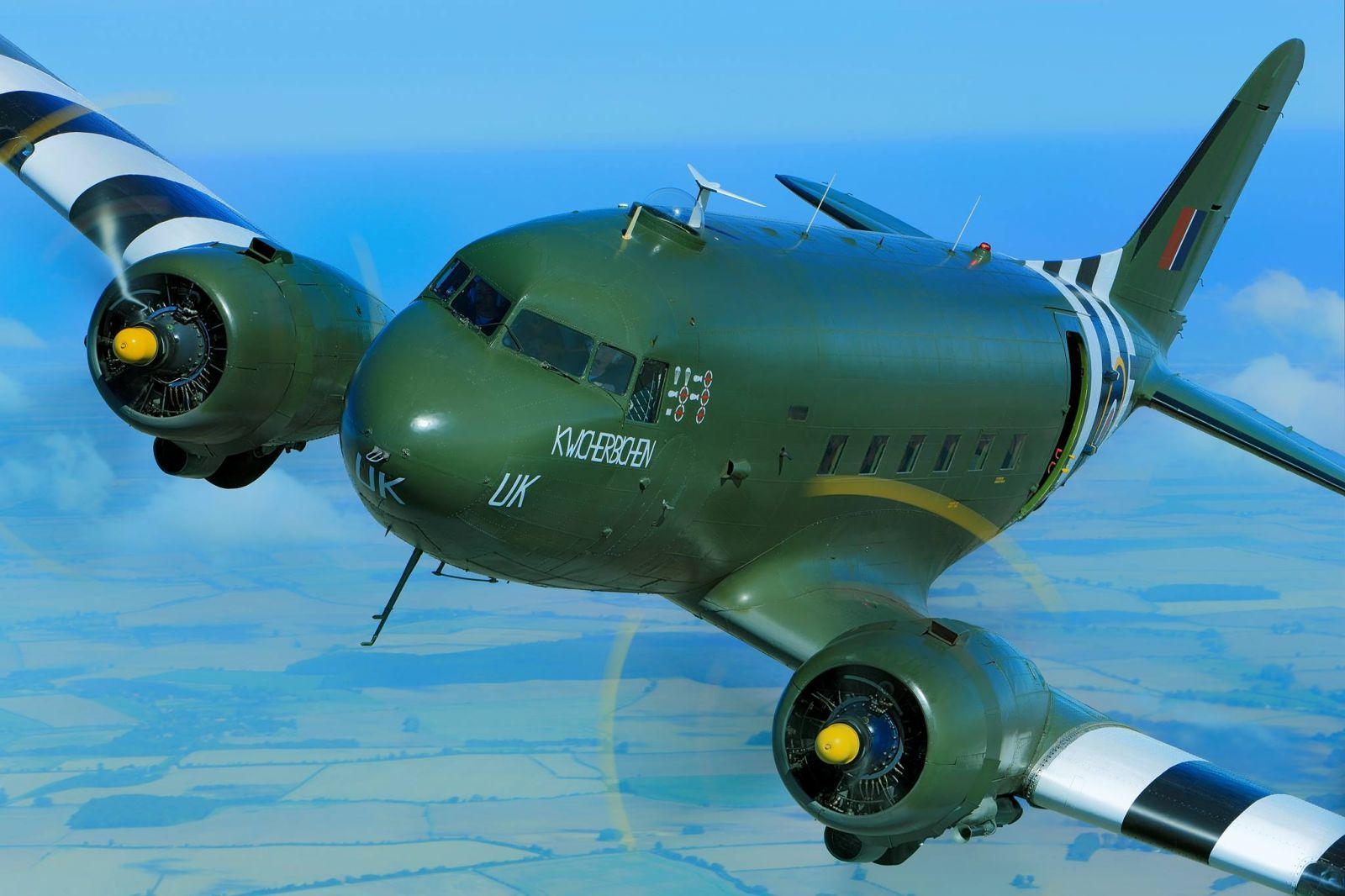 A safety inspection flagged up a malfunction in the Dakota aircraft.