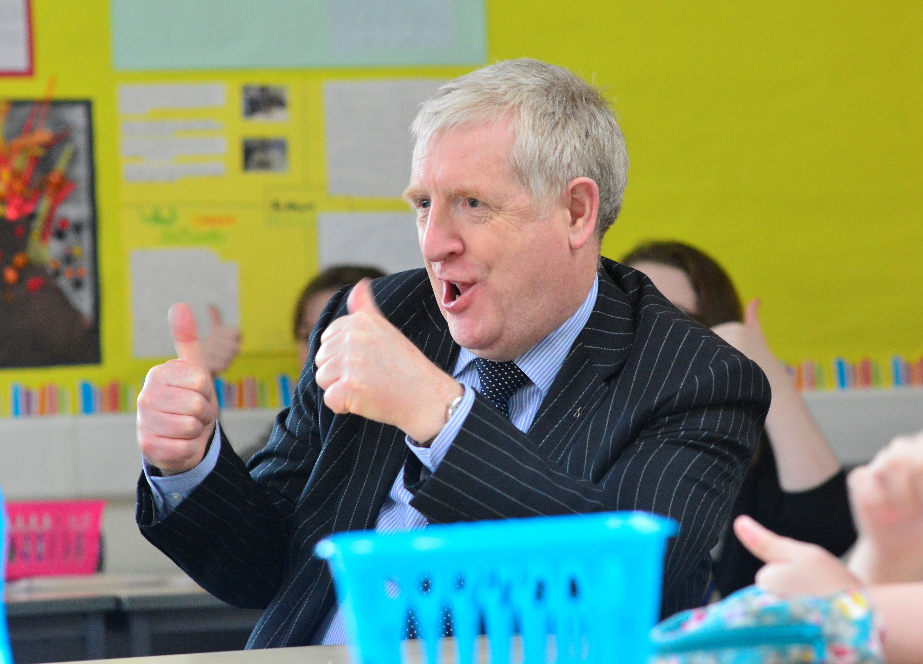 Dunfermline and West Fife MP Douglas Chapman will face questions from Pittencrieff Primary pupils.