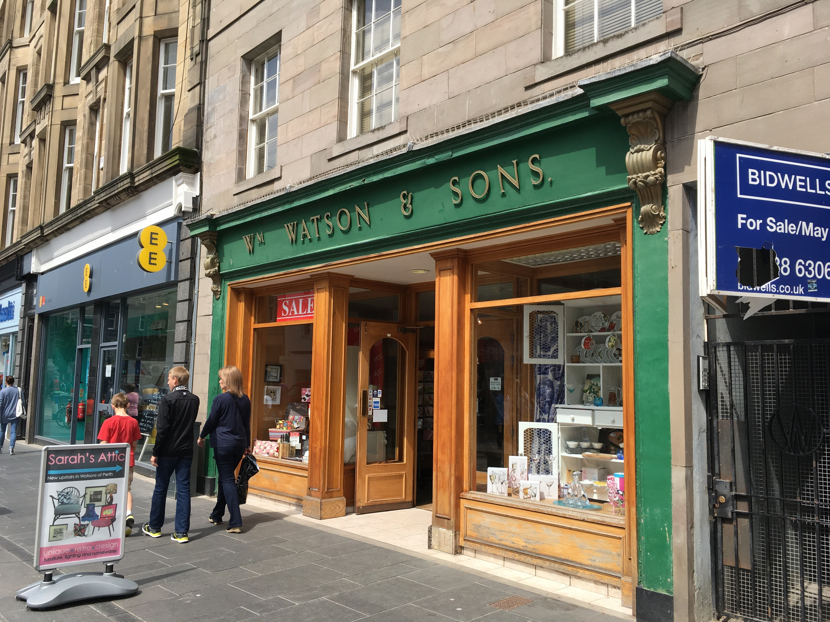 Watsons of Perth in the city centre.