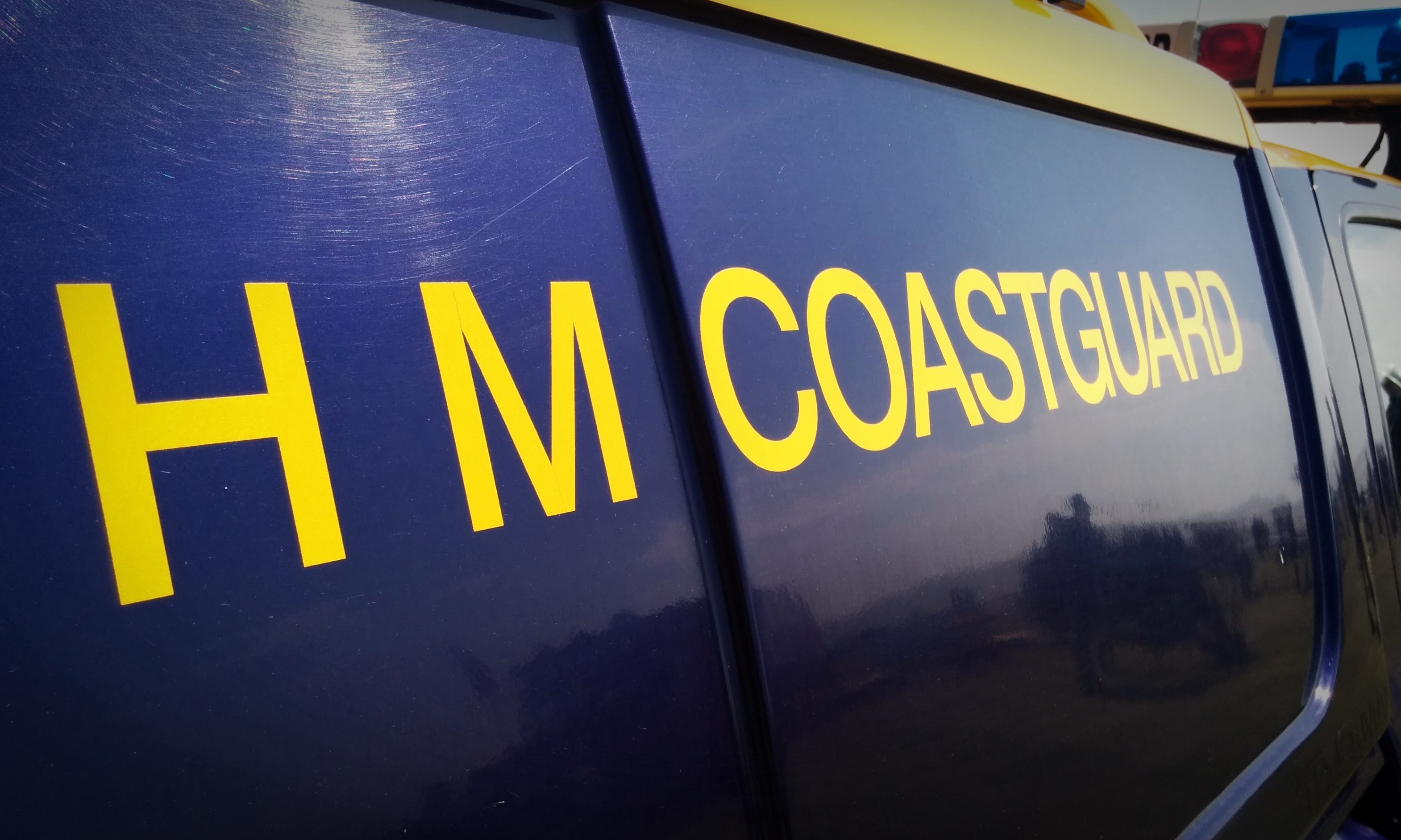 HM Coastguard were called