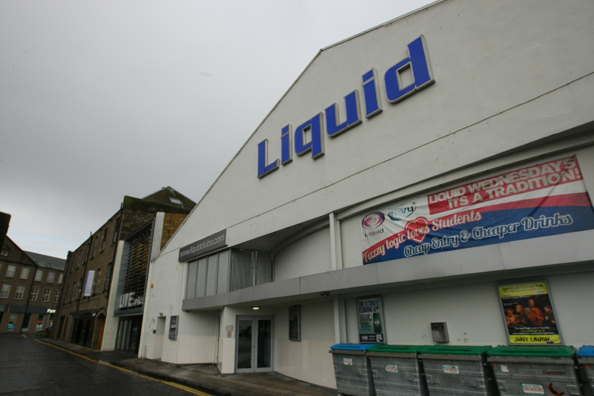 Liquid Nightclub in Dundee where the attacks took place