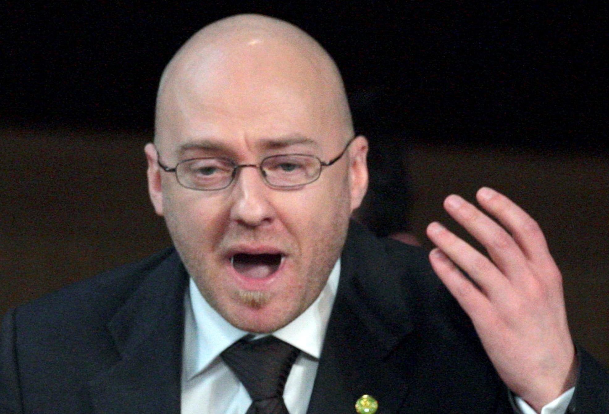 Scottish Green Party co-convener Patrick Harvie.