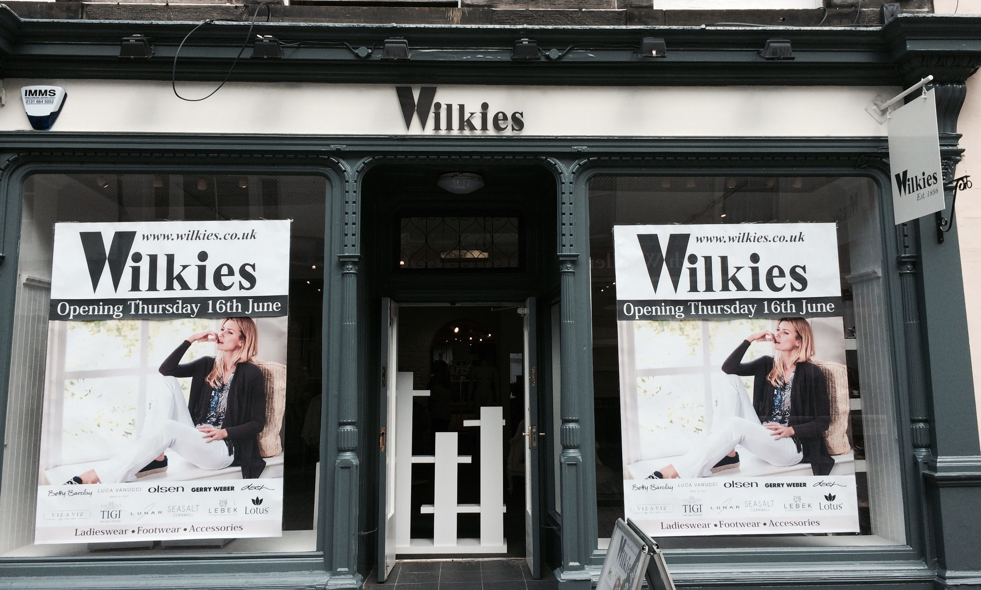 Wilkies new store in Perth.