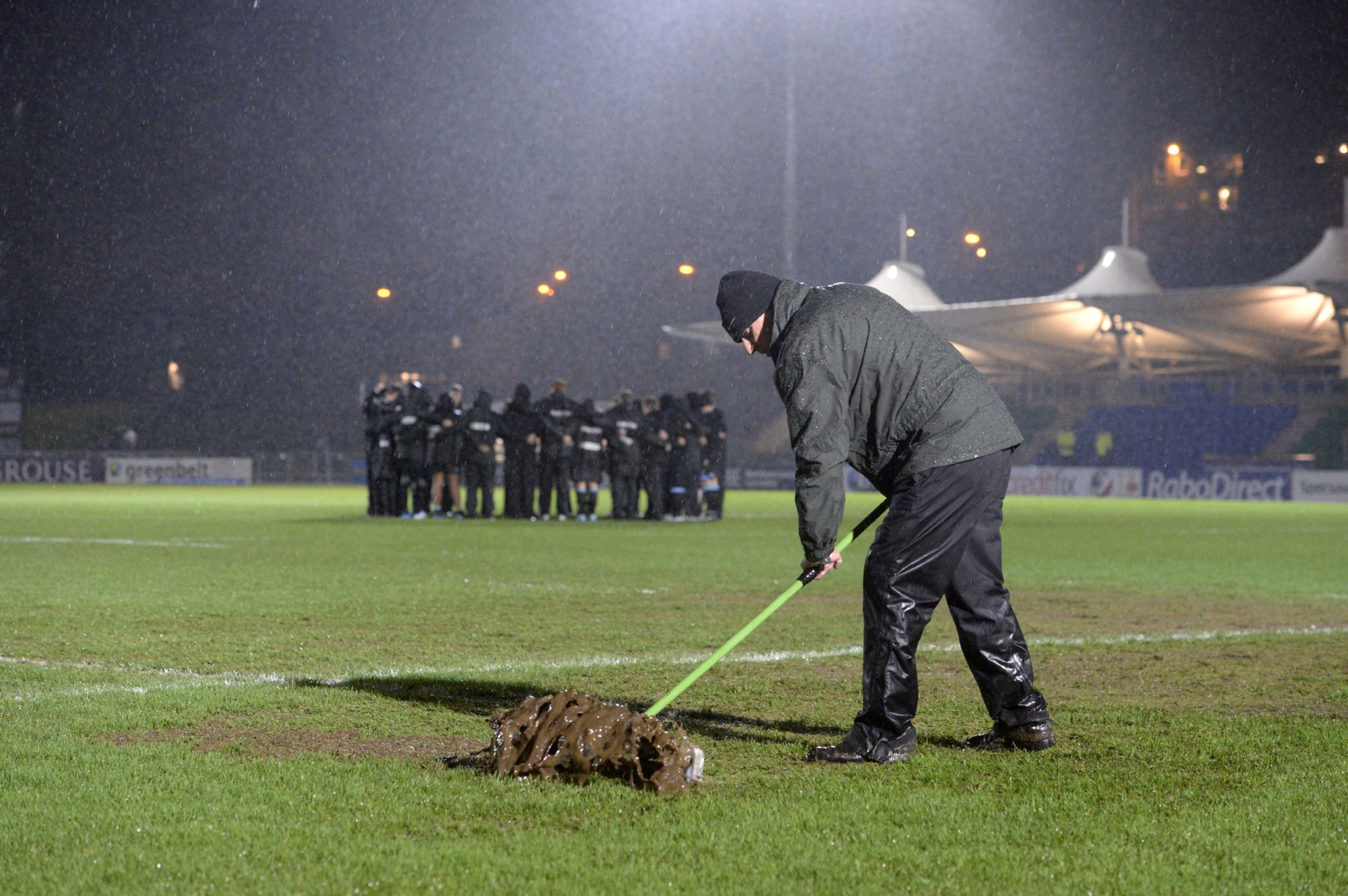 Scotstoun's existing grass pitch has been prone to flooding and postponements.