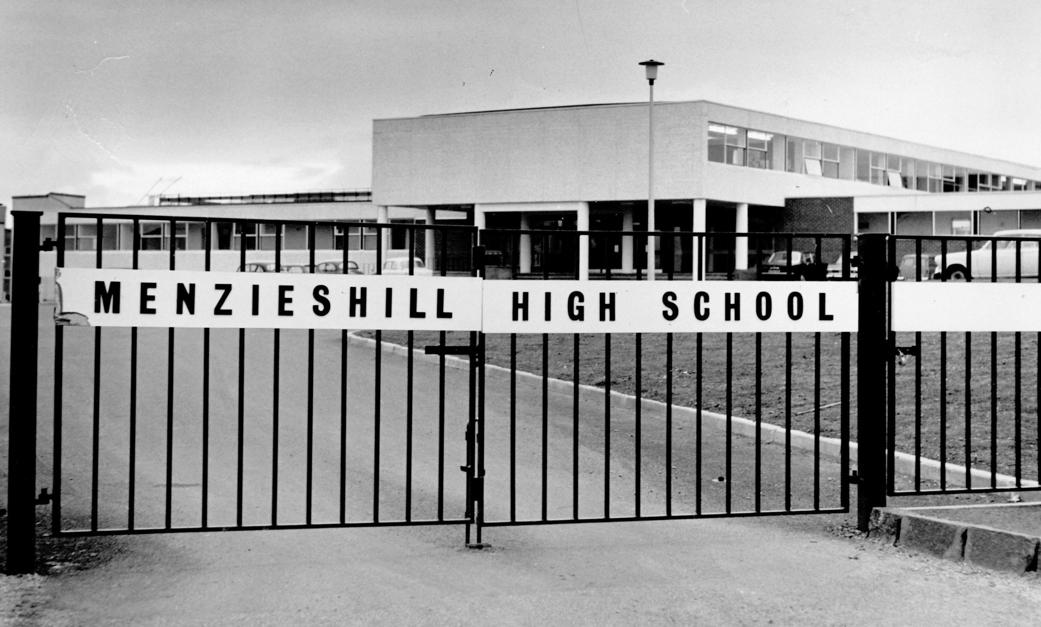 Menzieshill High School is closing after decades at the heart of the local community.