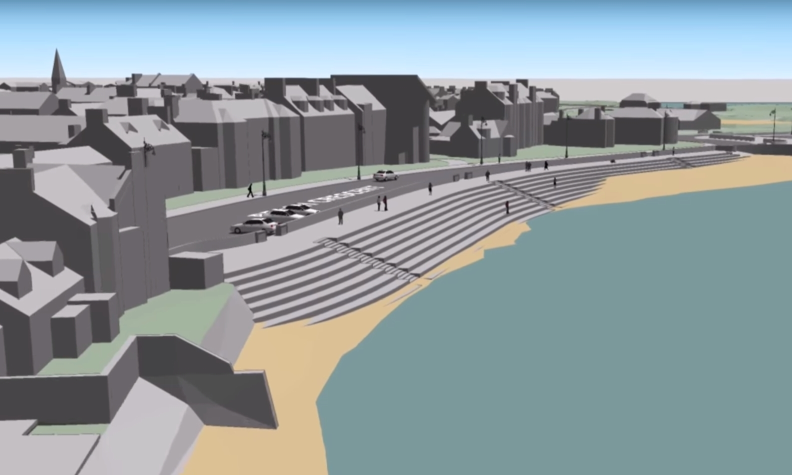 The video suggests major changes at Beach Crescent.