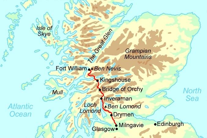 west-highland-way-map