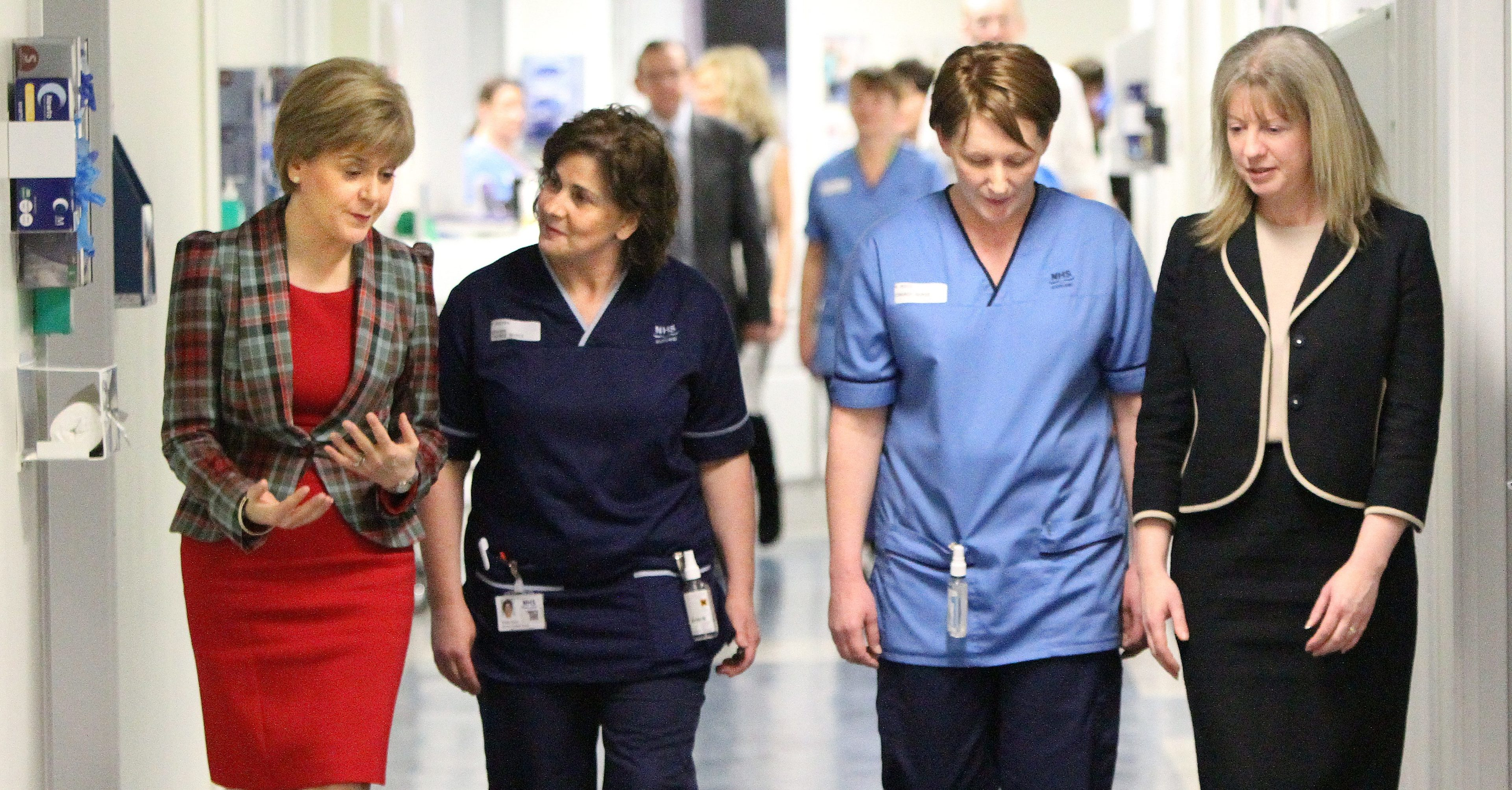 Sturgeon apologised to NHS patients on Monday