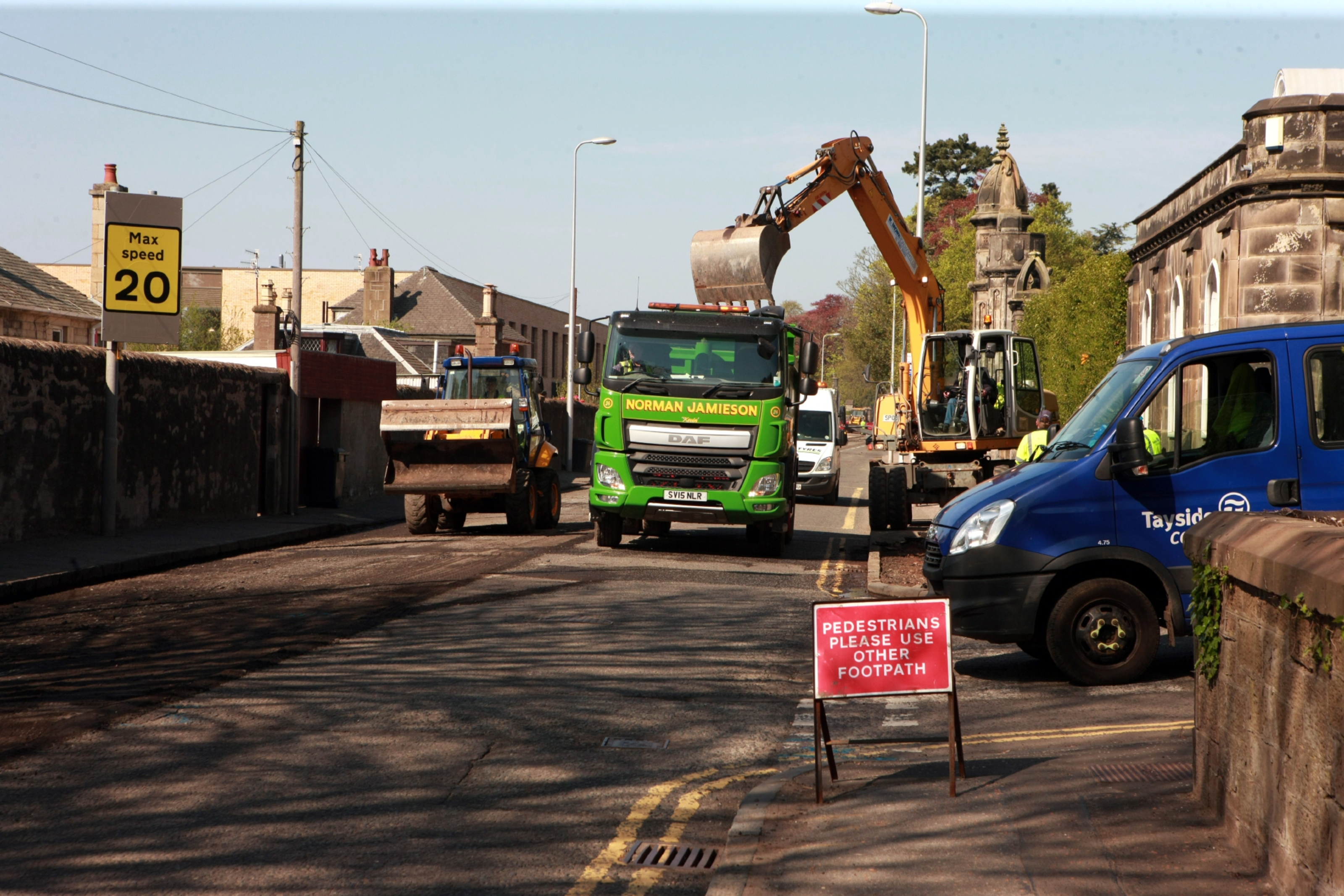 The West End - and Perth Road in particular - has faced repeated roadworks disruption since 2016