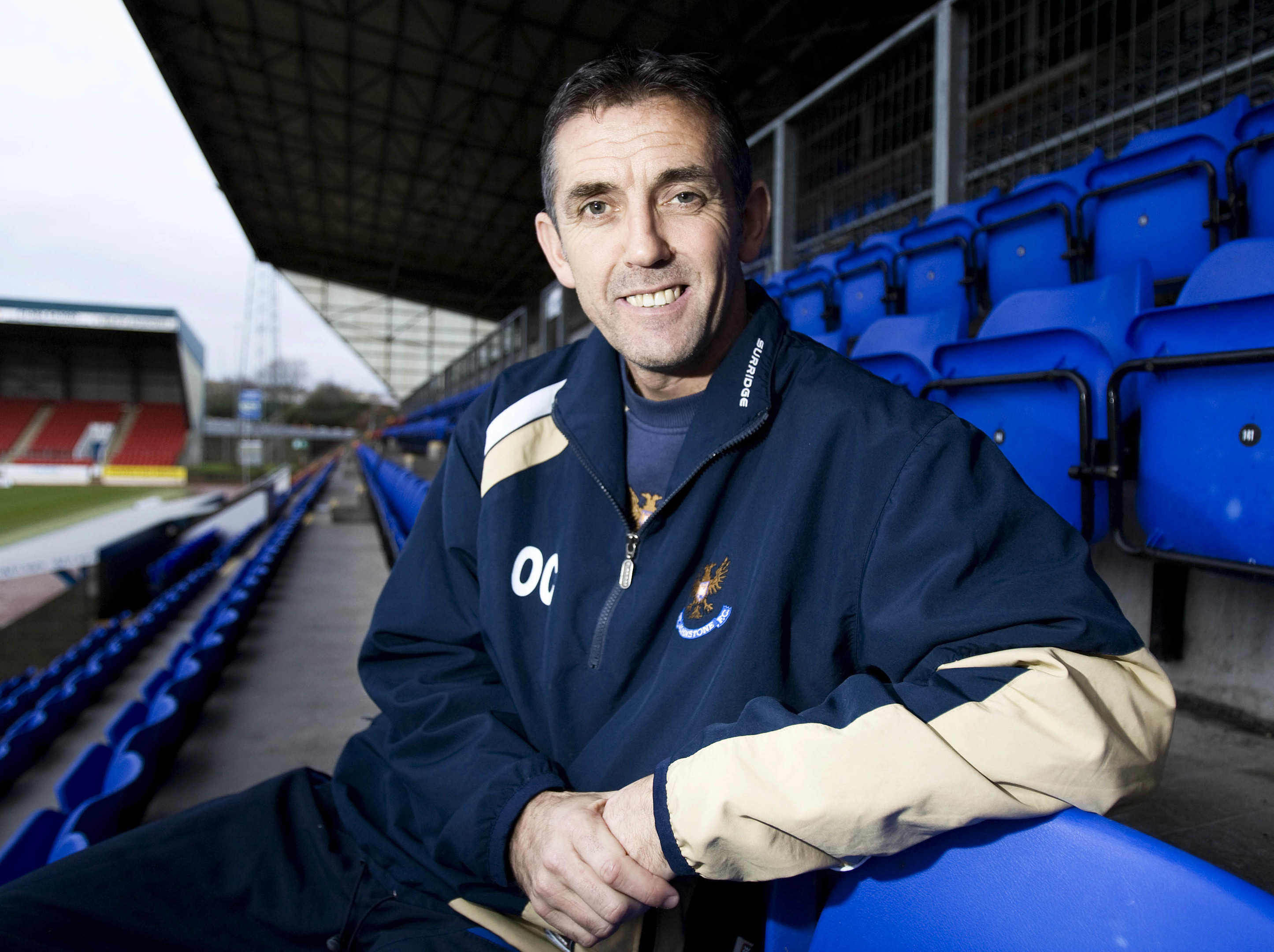 Owen Coyle is unveiled as St Johnstone manager.
