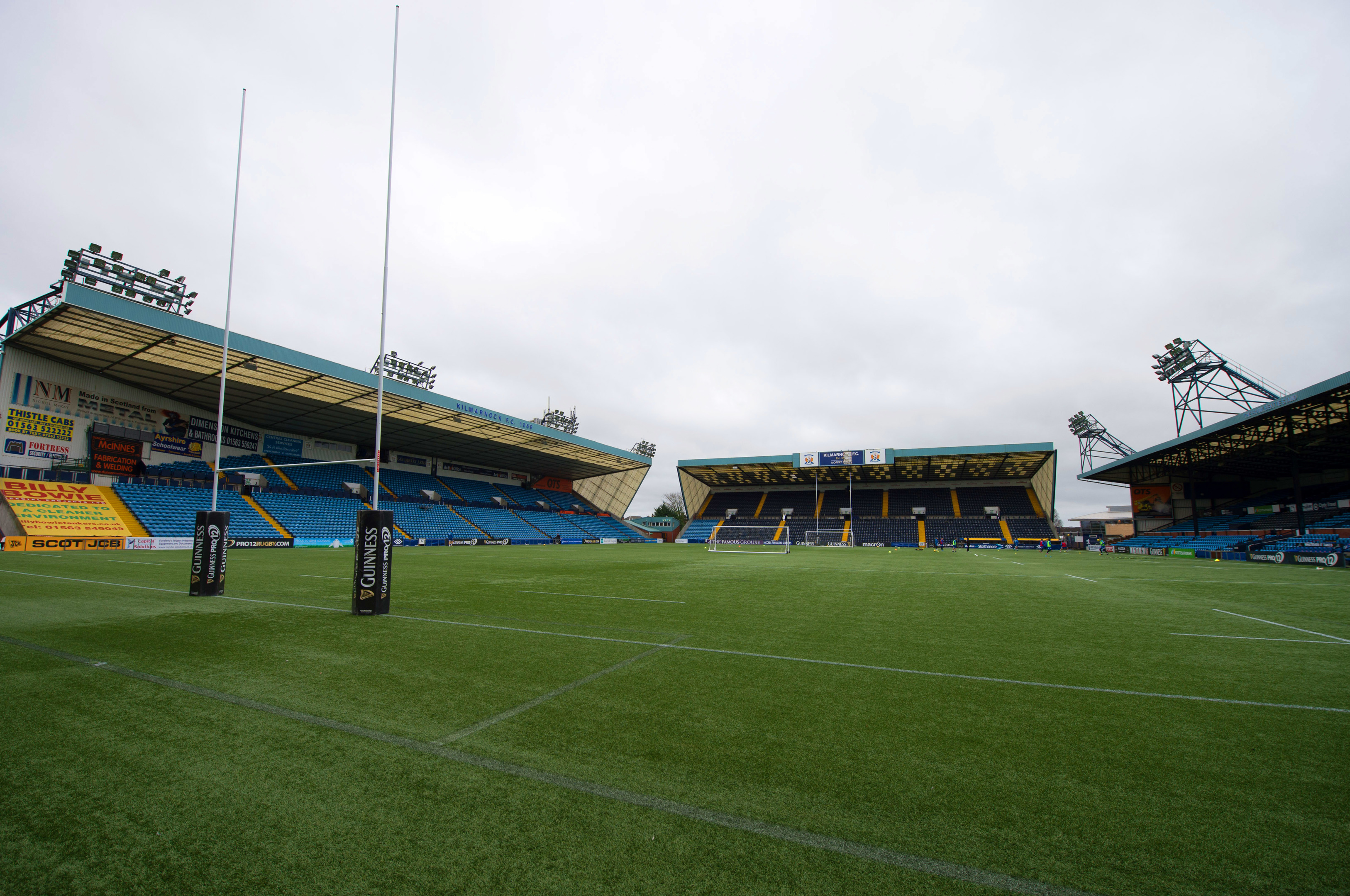 Rugby Park will host the test with Georgia.