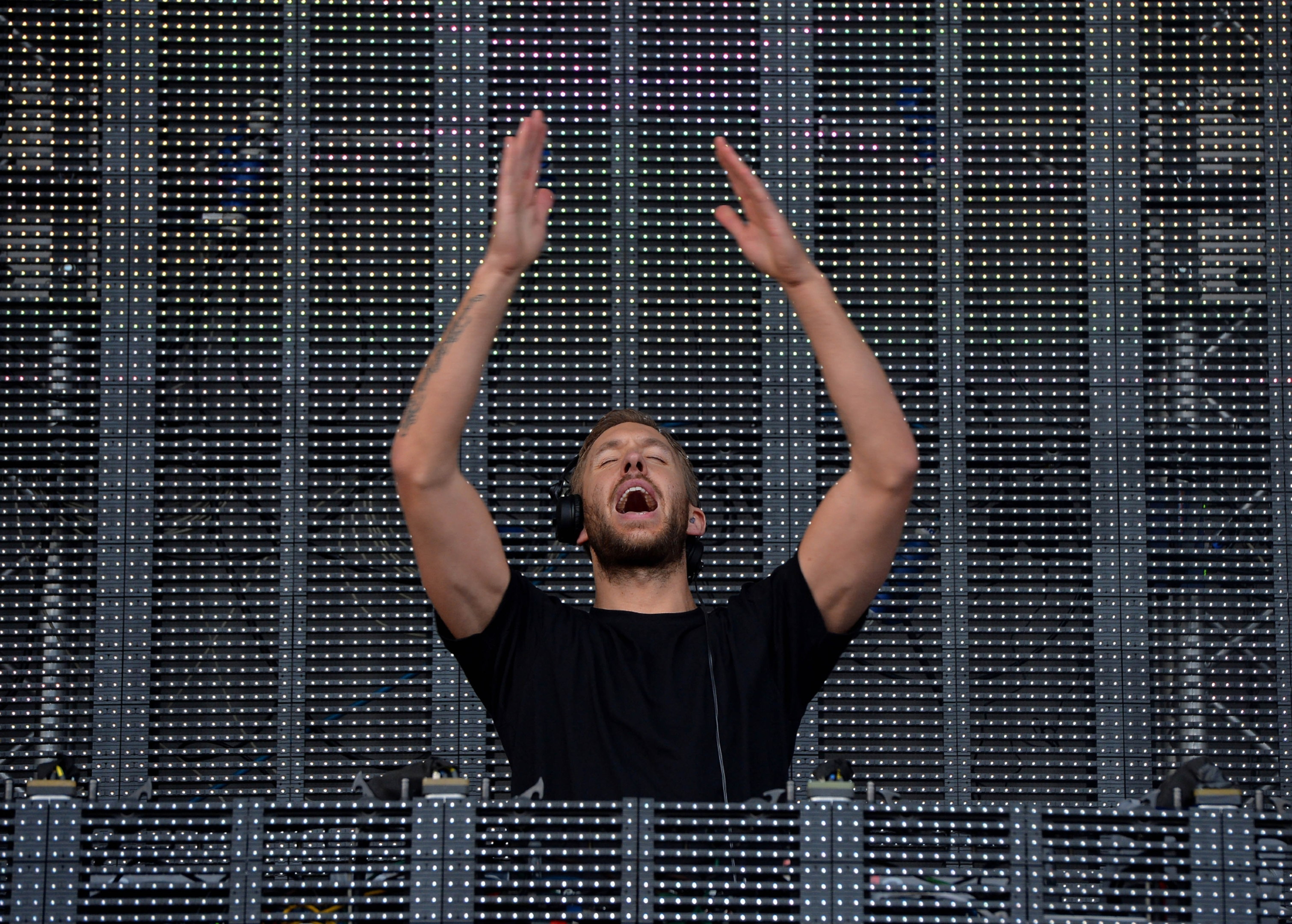 Calvin Harris wowed the crowds at T in the Park.