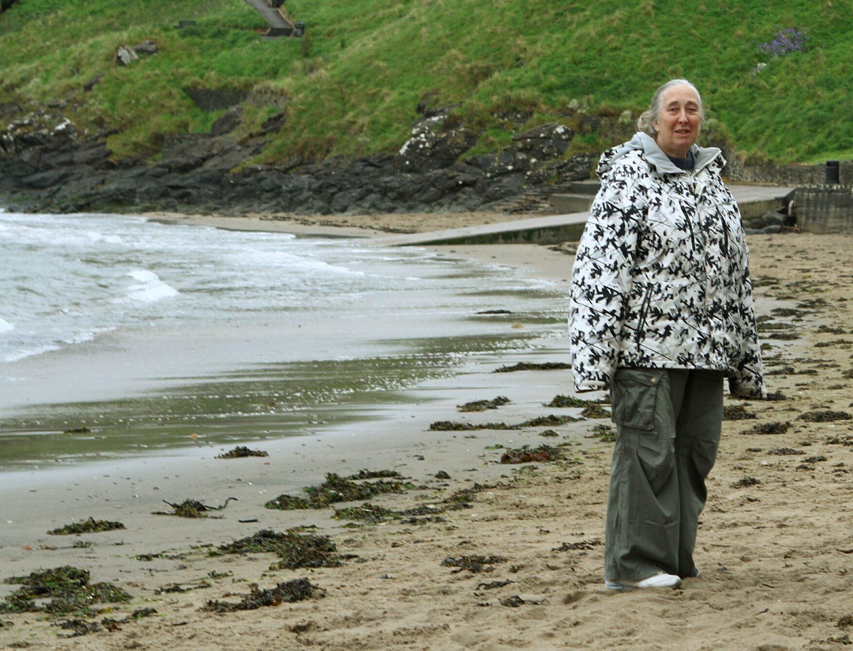 Carol Rhodes of Kinghorn Harbour Residents Environmental Group.