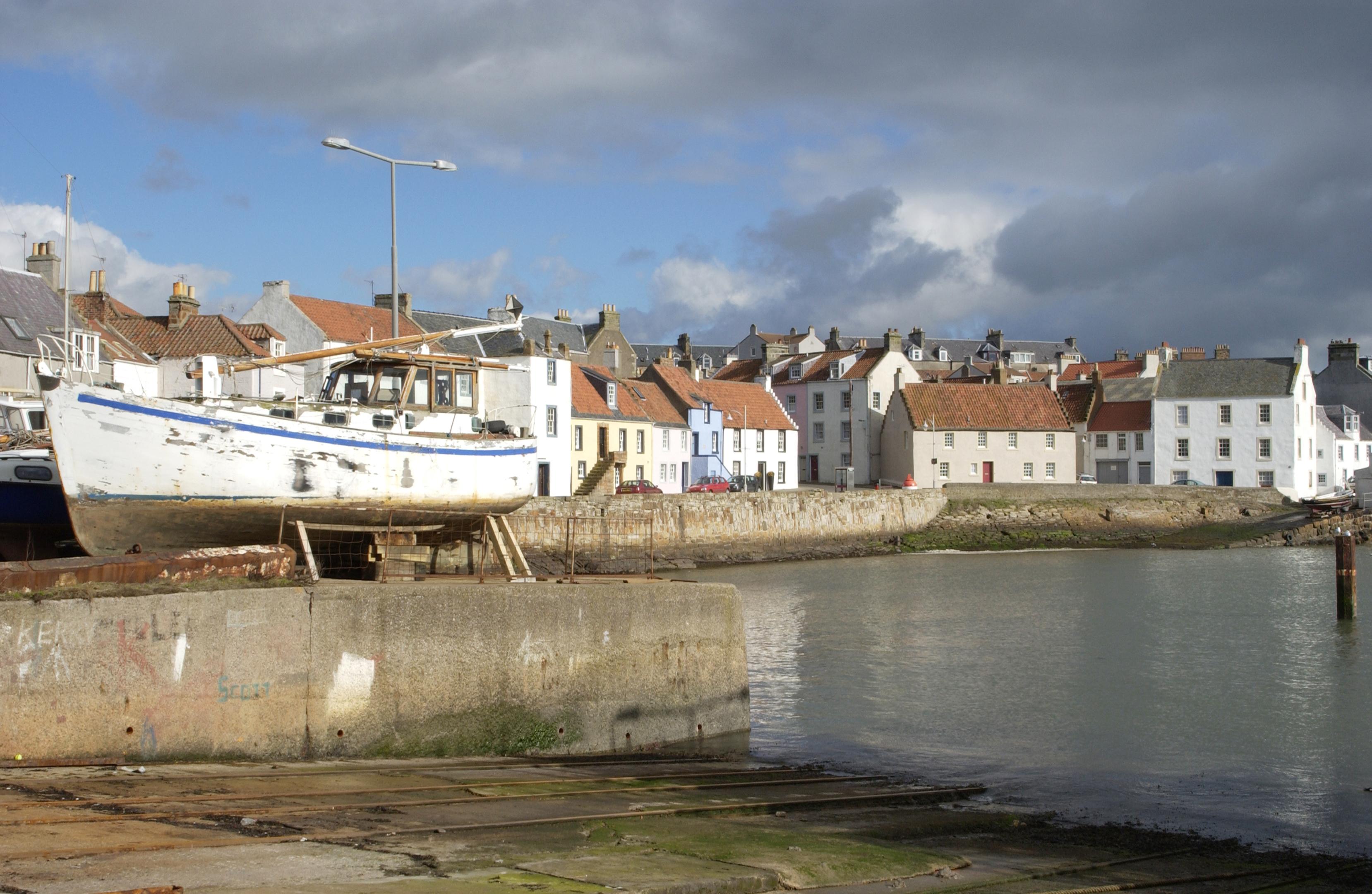St. Monans harbour