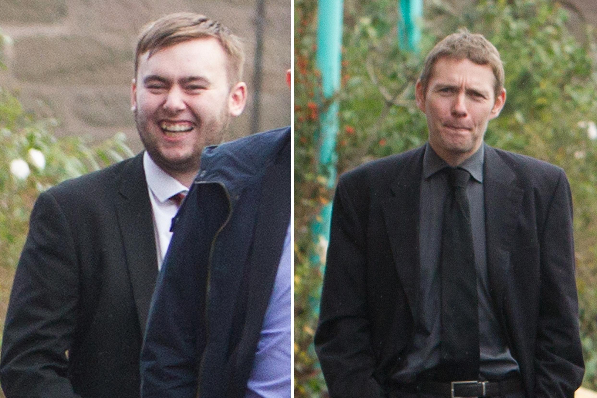 Ryan Lawrence (left) and Ian Bear.