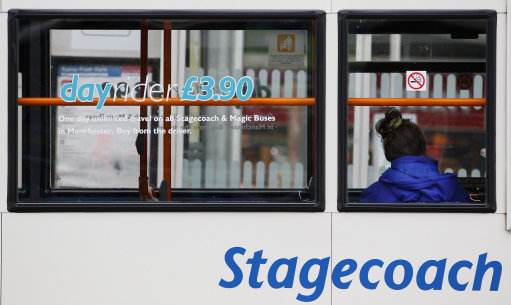 buses were hit by traffic congestion, according to Stagecoach