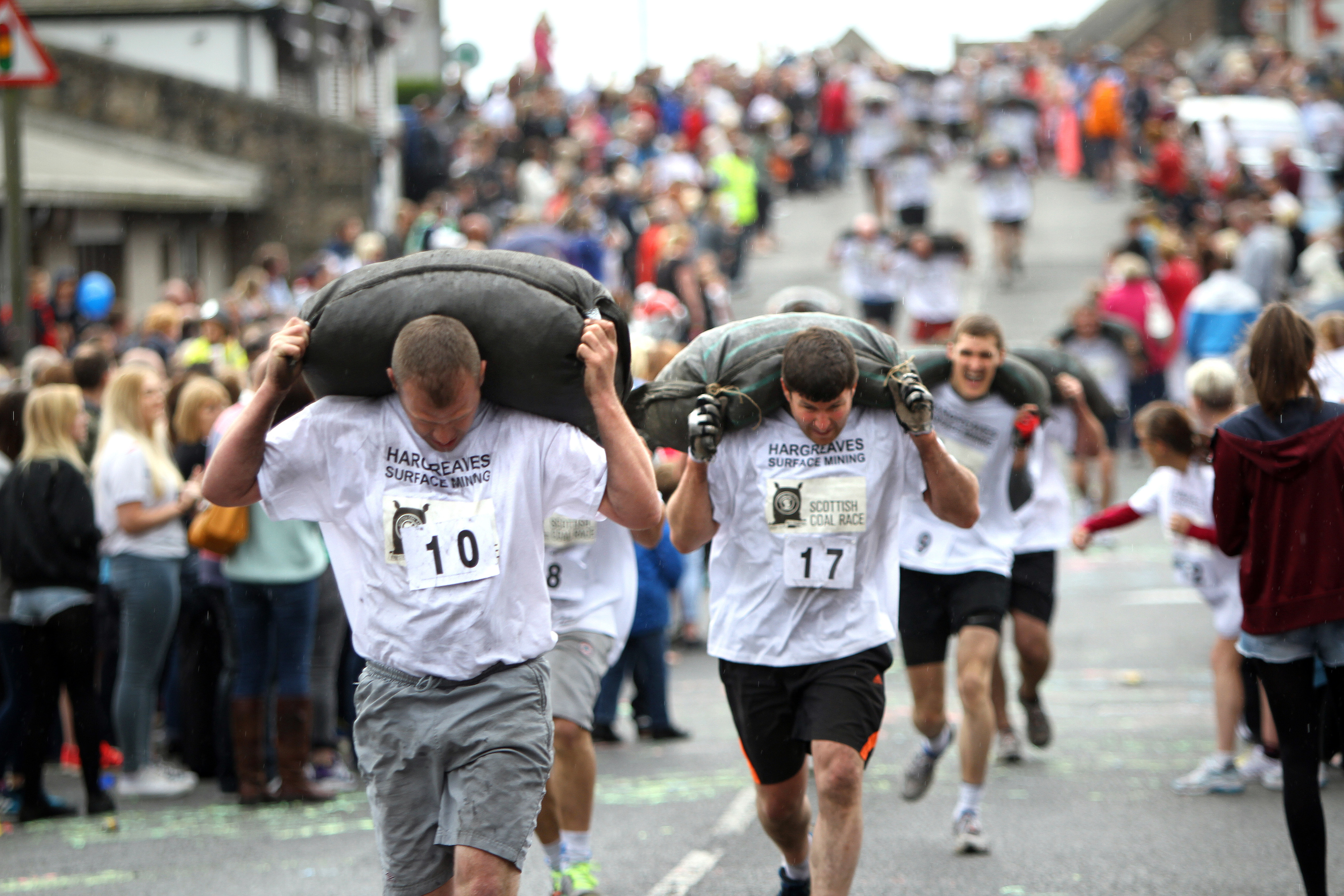 The Kelty coal race.